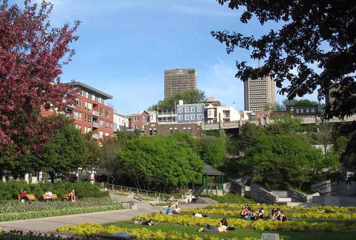 Québec-JardinSaint-Roch
