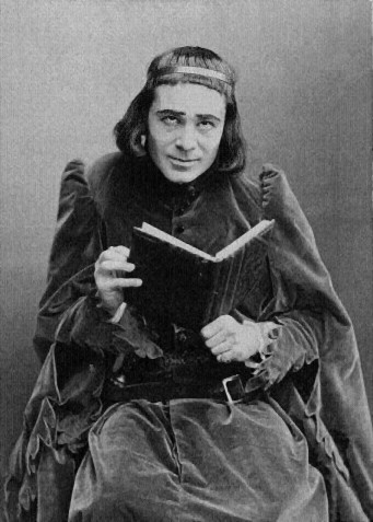 Richard Mansfield as Richard III, c. 1889.