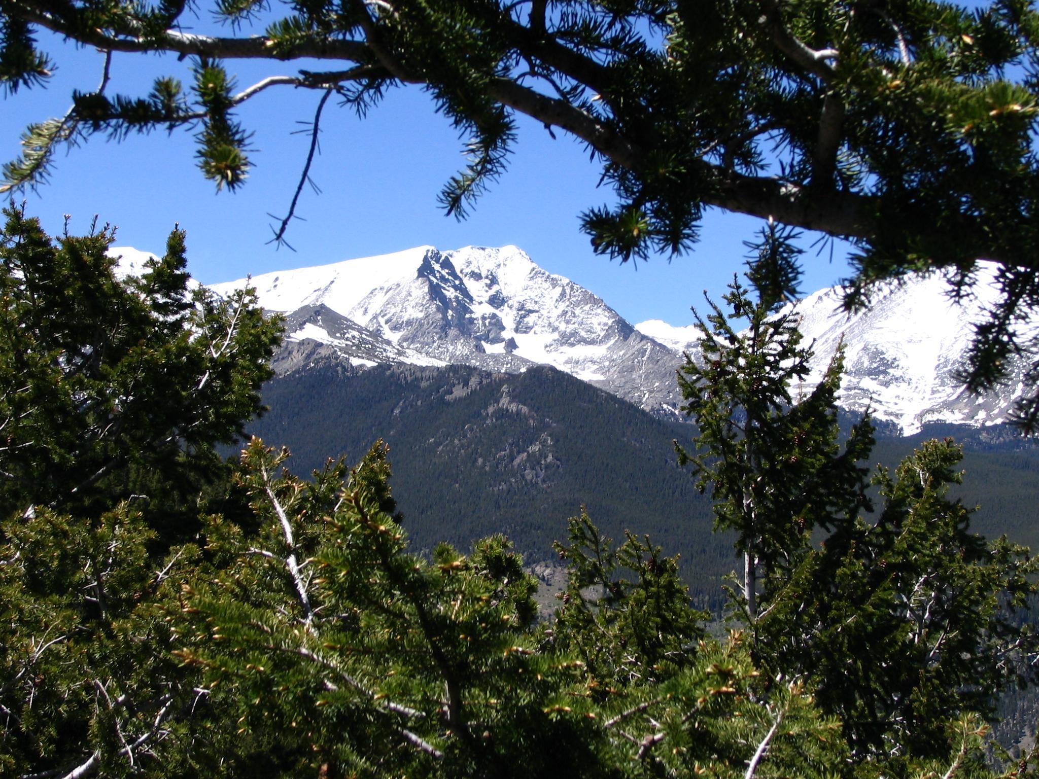 Estes Park in Rocky Mountains, Colorado.