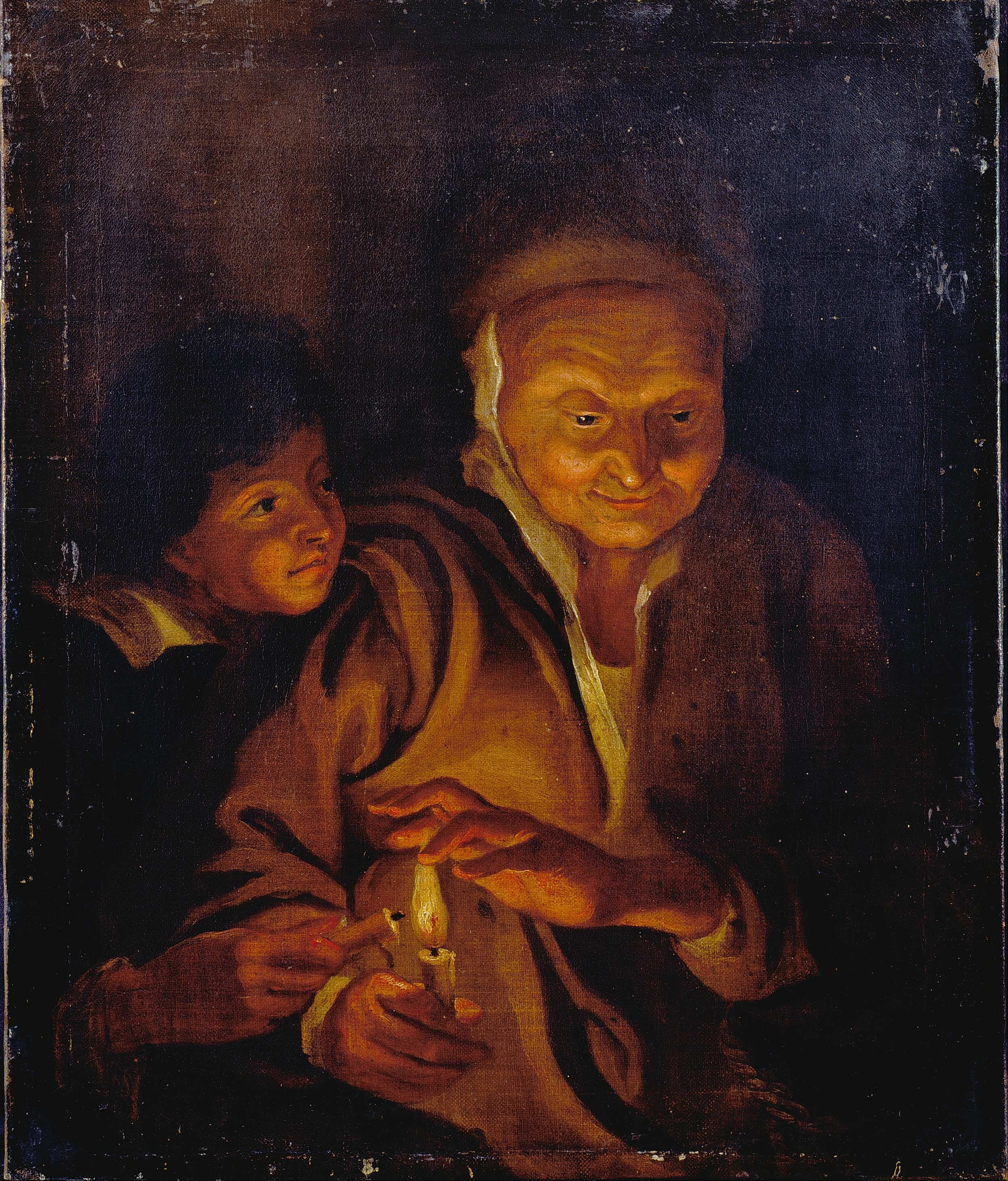 File:Rubens, Sir Peter Paul - A Boy lighting a Candle from one