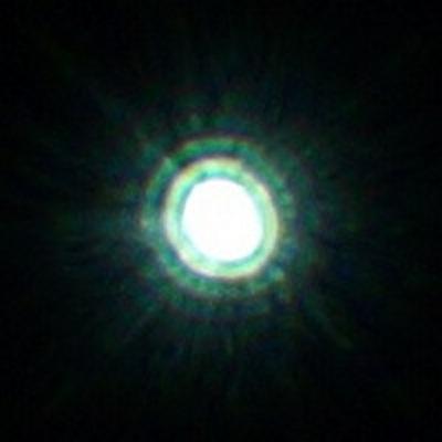 Rubinar-1000 plus 2x K-1 telekonv Airy disk 1