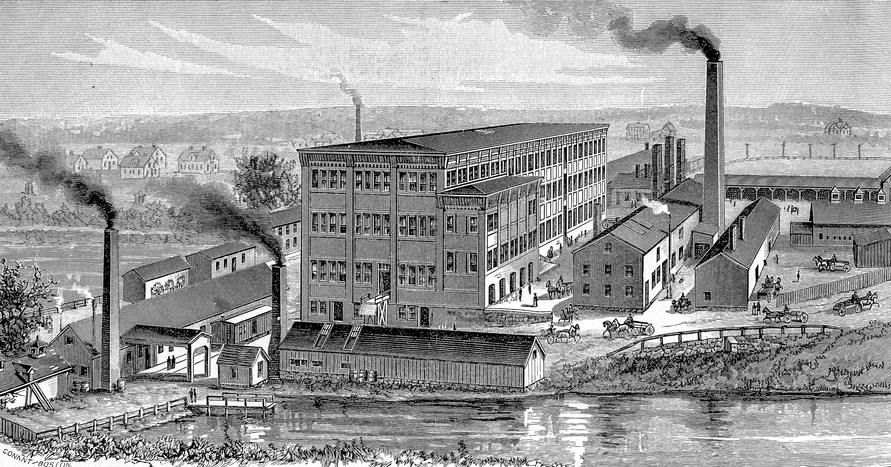 Rumford Chemical Works, Providence, Rhode Island, 1886