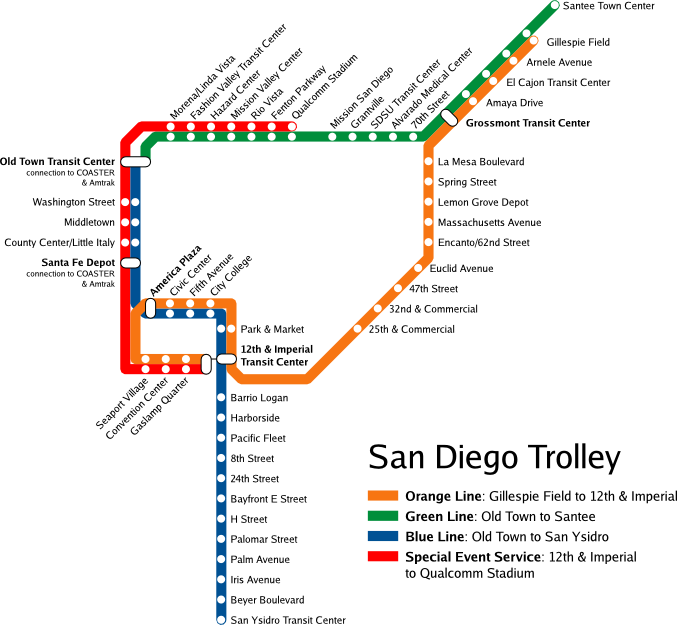 File:San Diego Trolley map.png   Wikimedia Commons