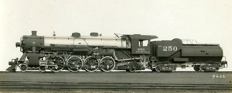 All Out Diesel >> File:Seaboard 4-8-2 Baldwin locomotive.jpg - Wikimedia Commons