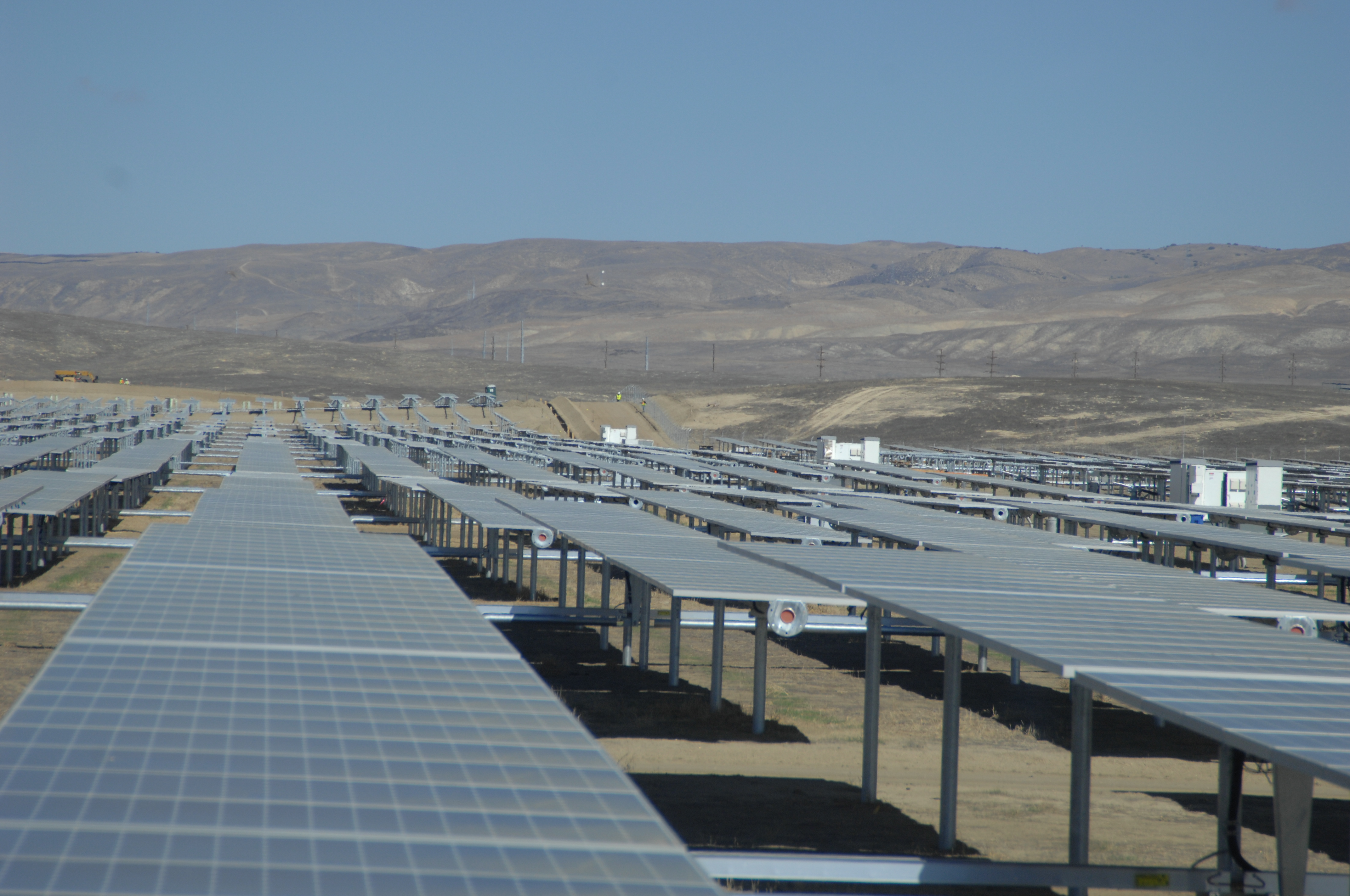 California may reach its renewable energy goal 10 years early for Solar ranch