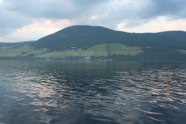 South of Temple pier, Loch Ness. - geograph.org.uk - 209676