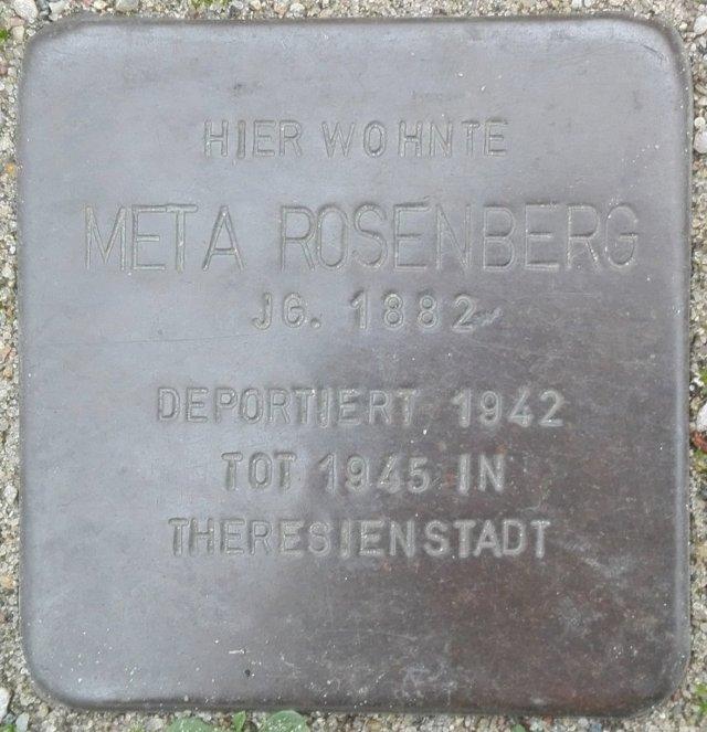 Stolperstein Parchim Rosenberg Meta.jpg
