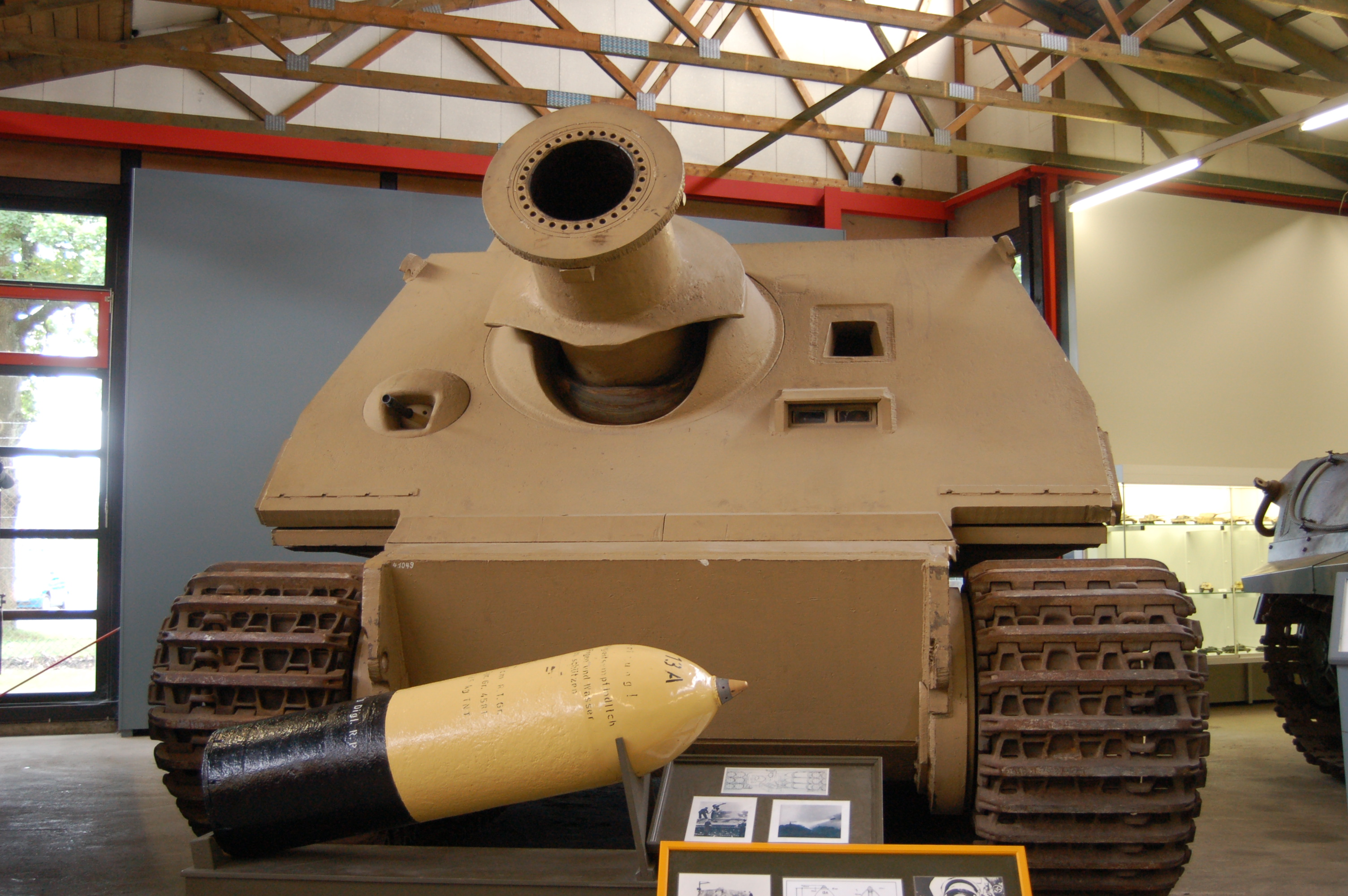 One Of 3 Surviving Of 19 Built Sturmtiger With 380mm