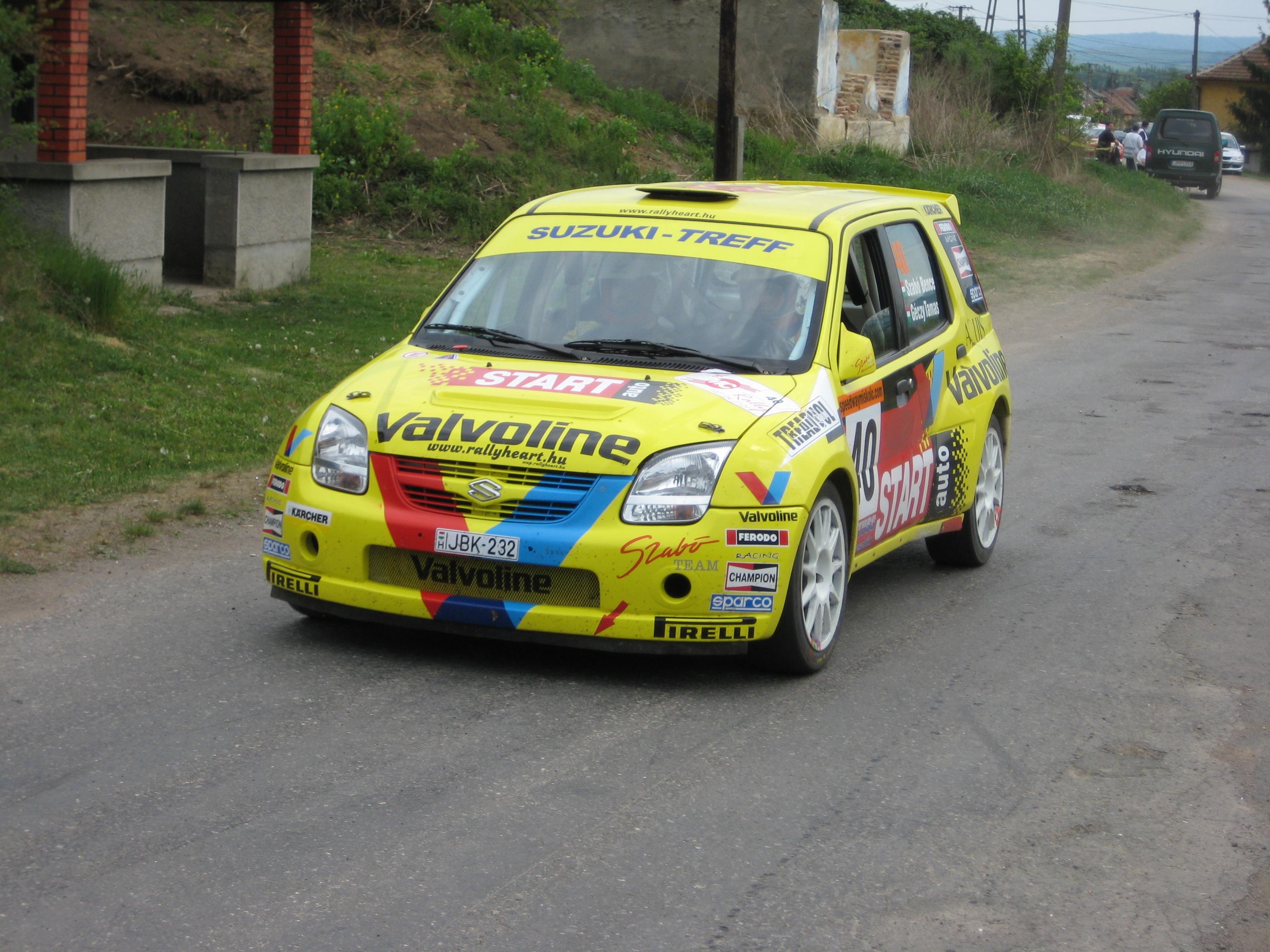 Suzuki Rally Car Kizashi