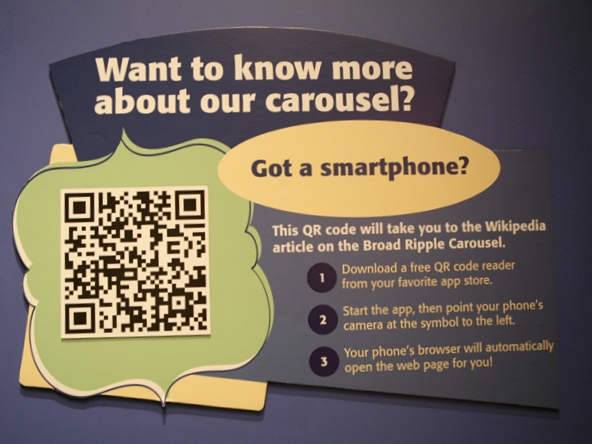 TCMI Carousel QRpedia Label