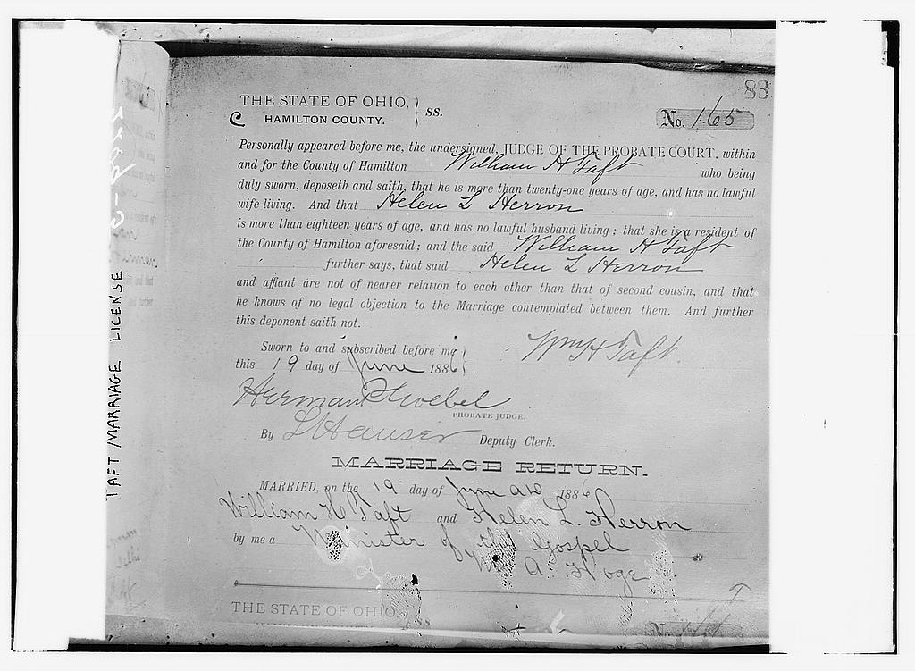 file:taft marriage license, ohio loc 2162683291 - wikimedia commons