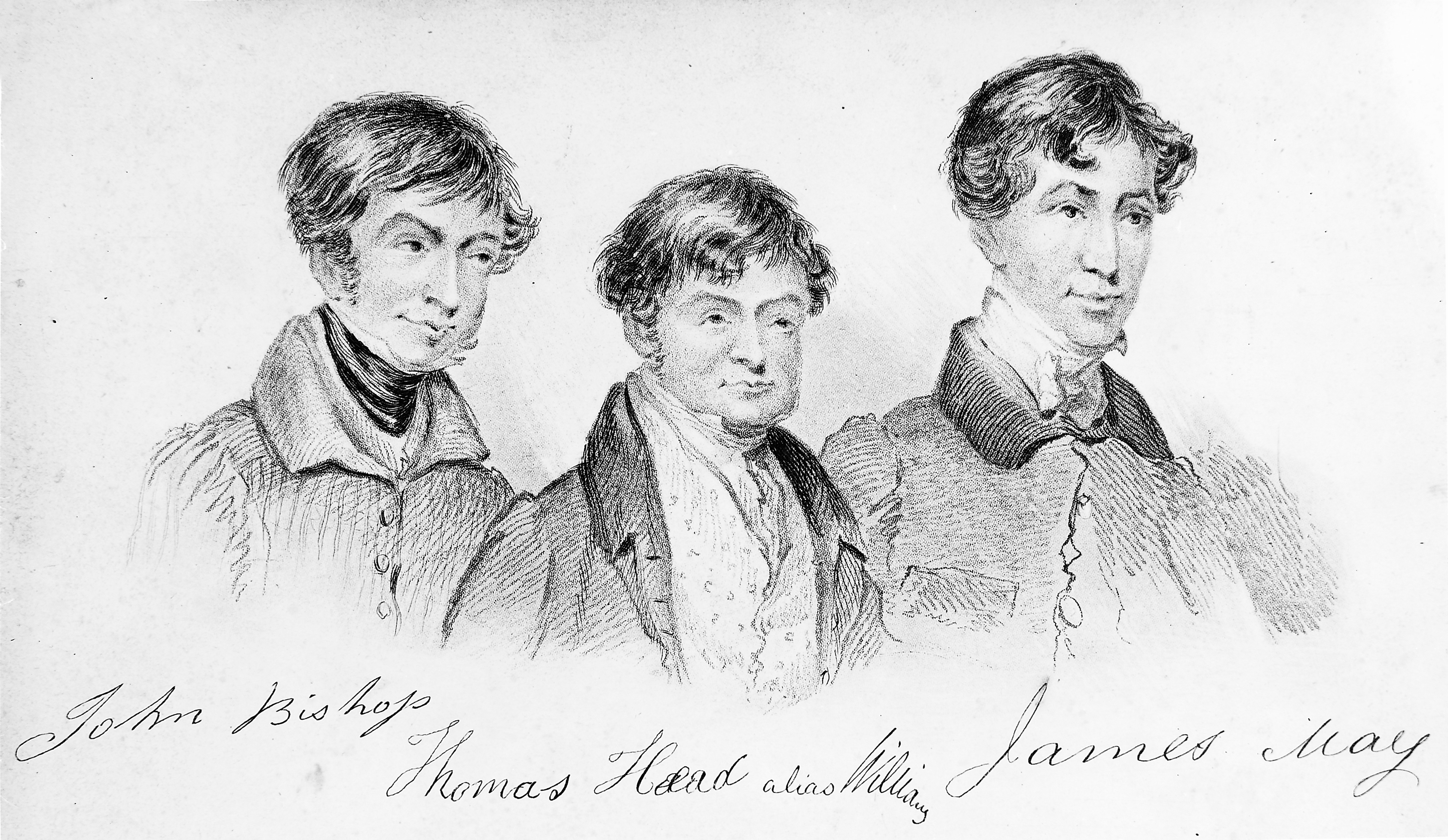 The 'London Burkers' John Bishop Thomas Williams James May