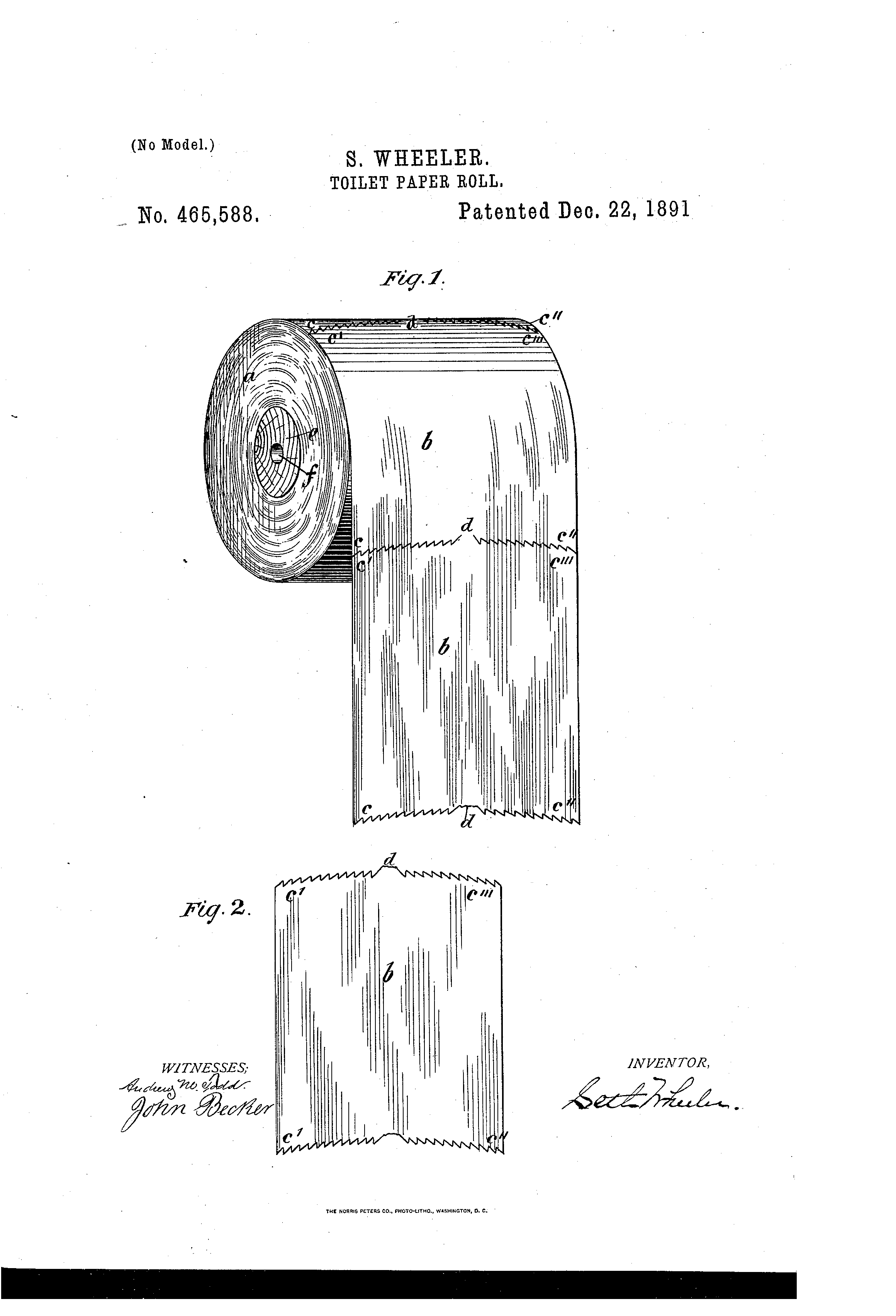 File Toilet Paper Roll Patent Us465588 0 Png Wikimedia