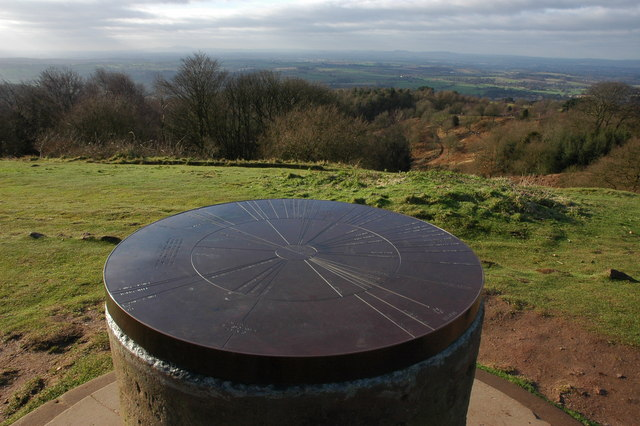 Toposcope on the Clent Hills - geograph.org.uk - 672203
