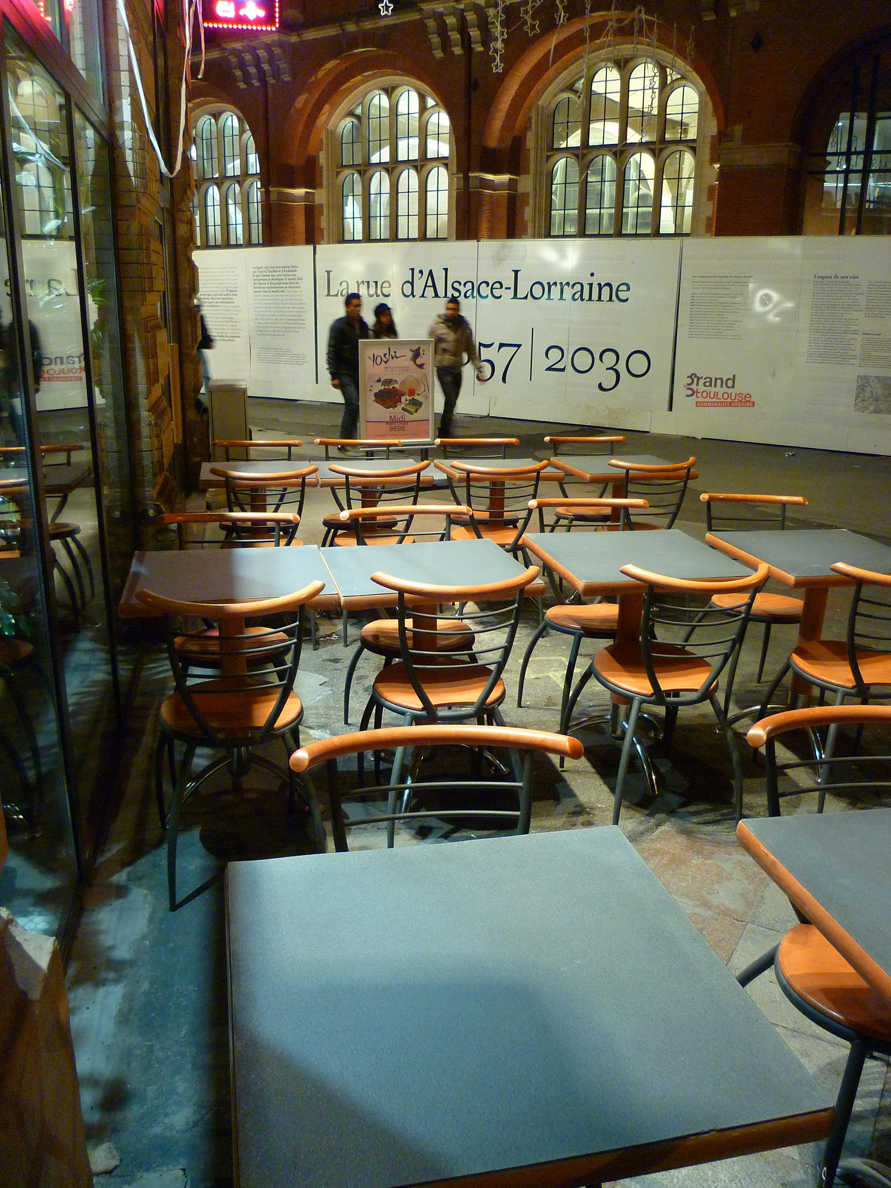 Design D Espace Toulouse file:toulouse - terrasse du restaurant sushiyoshi - 20101124
