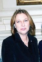 Former Israeli Foreign Minister Tzipi Livni