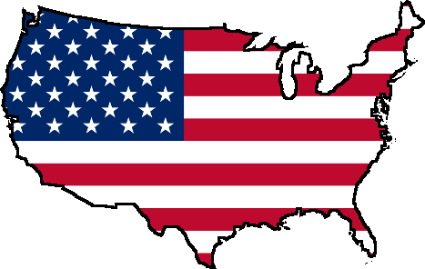 FileUSA Flag Mappng Wikimedia Commons - Us flag and map