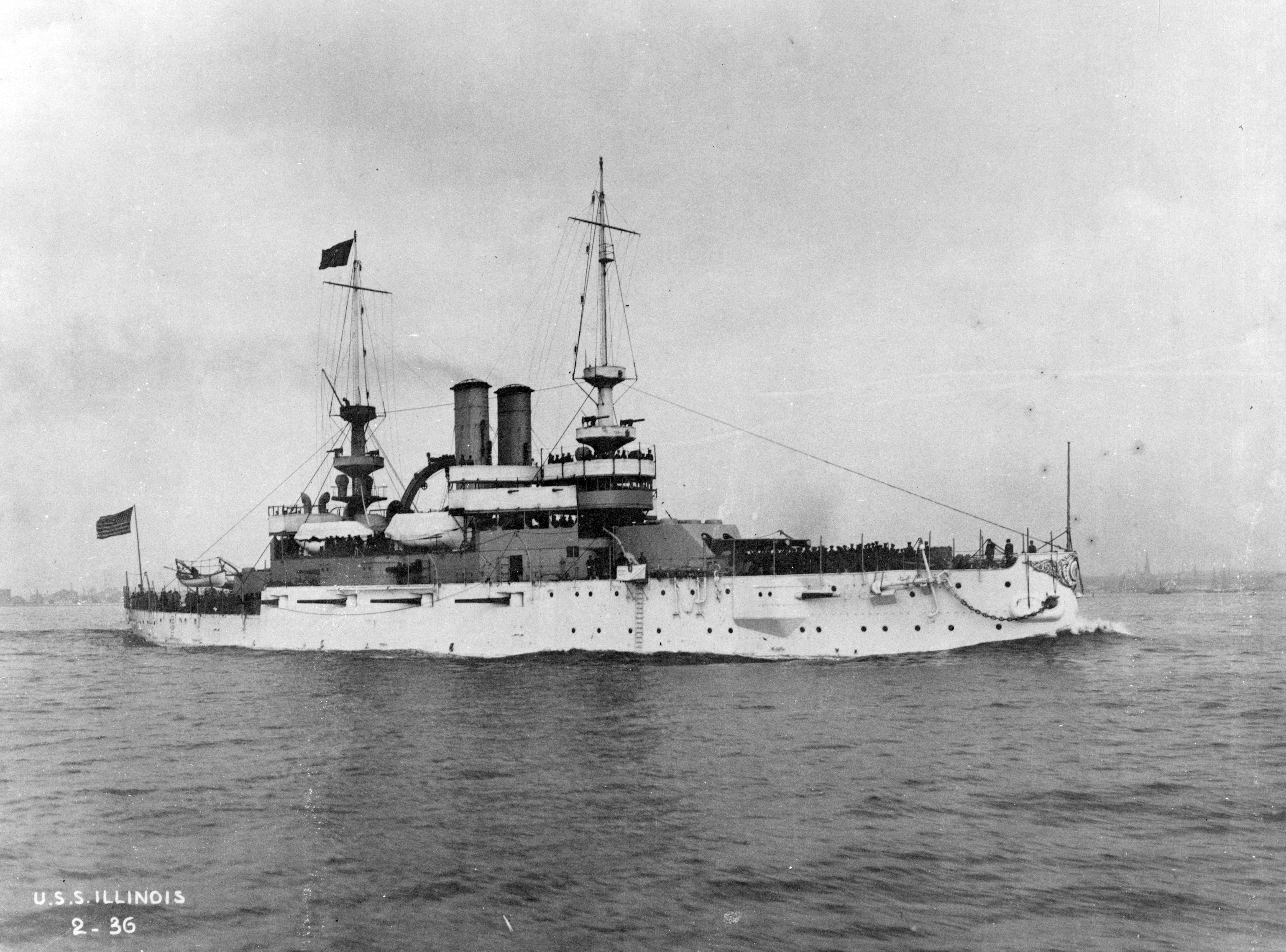 The USS Illinois