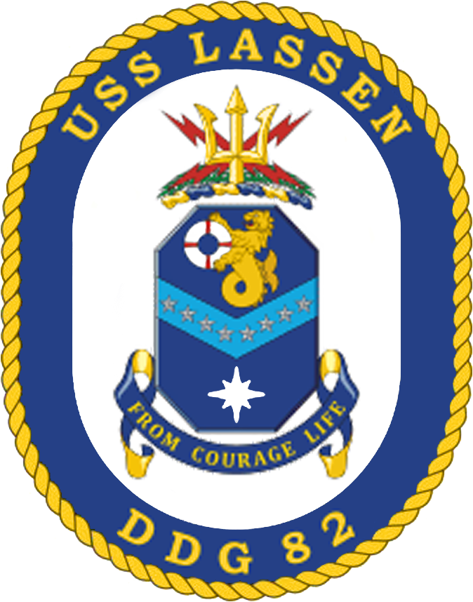 USS Lassen DDG-82 Crest.png