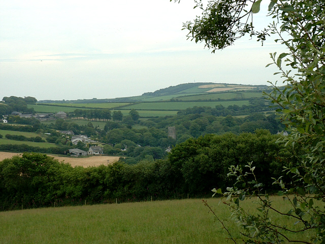 View from Saints Way, near Lanivet - geograph.org.uk - 212562
