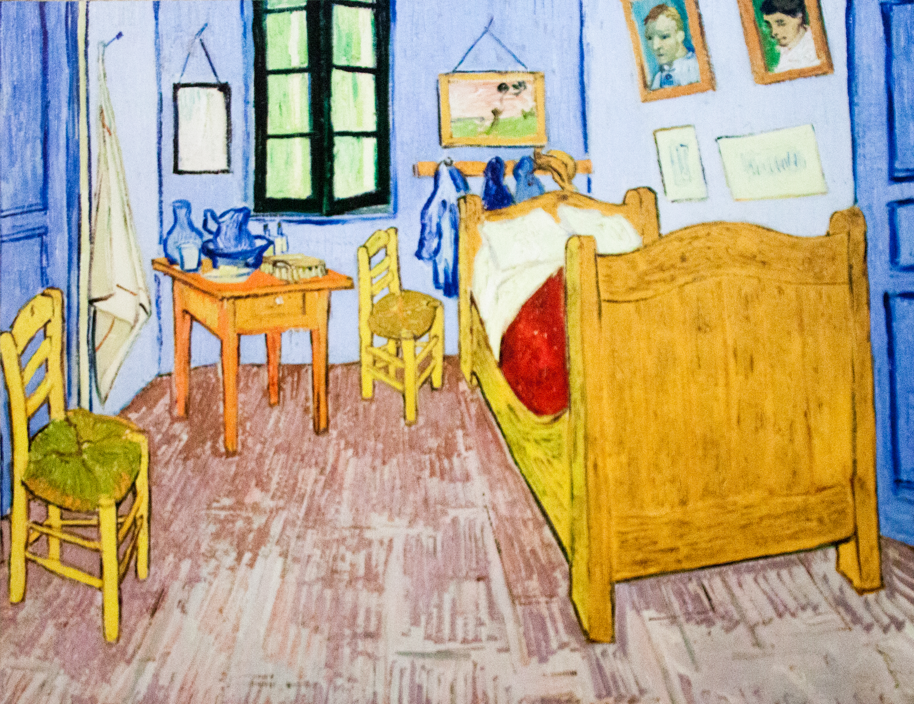 file:vincent's bedroom in arles - my dream - wikimedia commons
