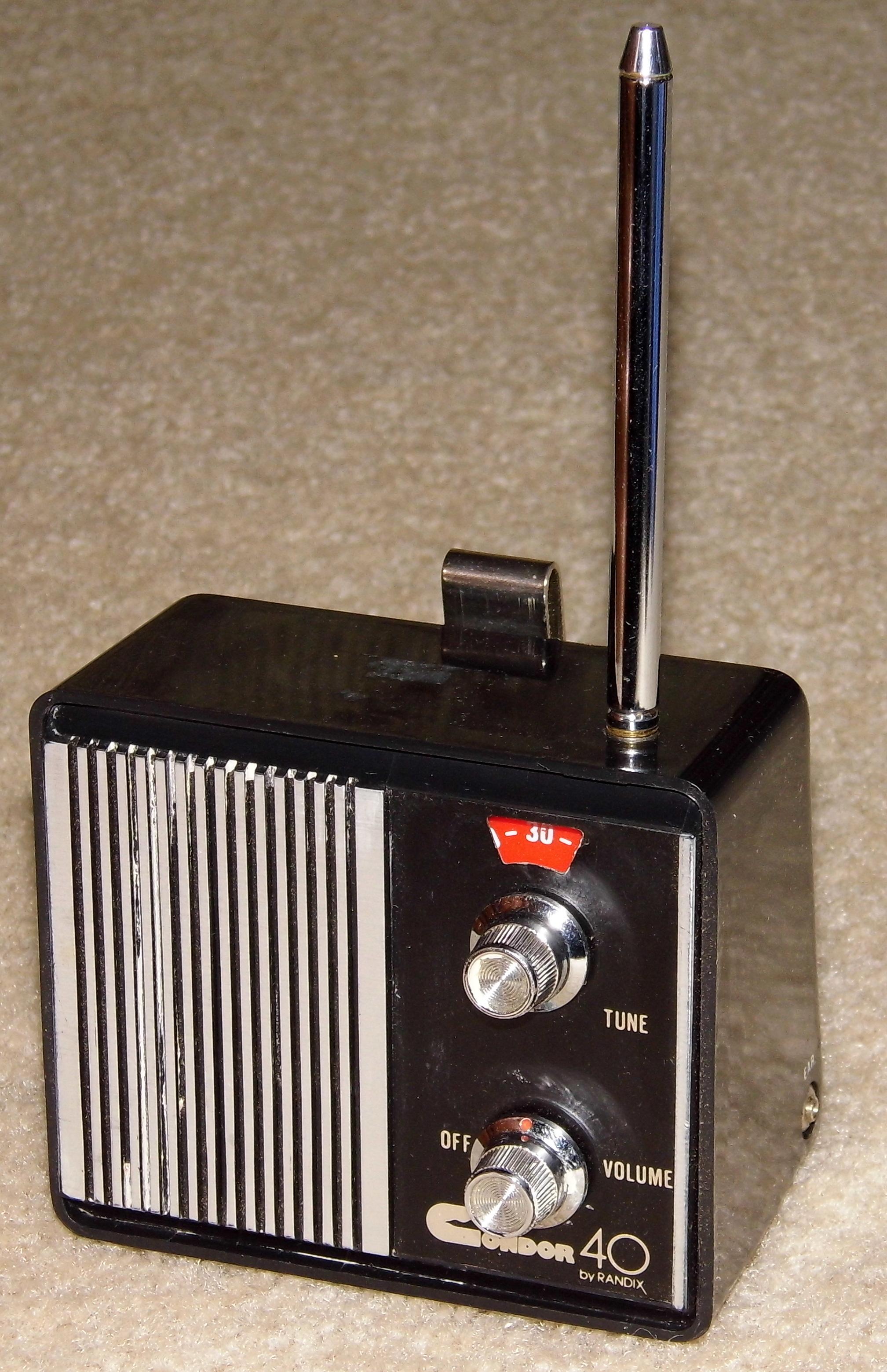 Modernistyczne File:Vintage Condor 40 CB Auto Receiver By Randix, Model TCB-56 CE05
