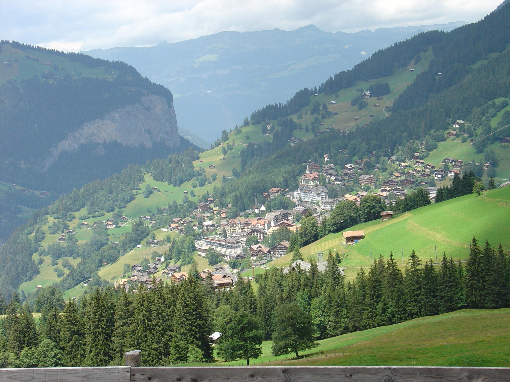 Switzerland The World Most Beautiful Place Wengen Switzerland