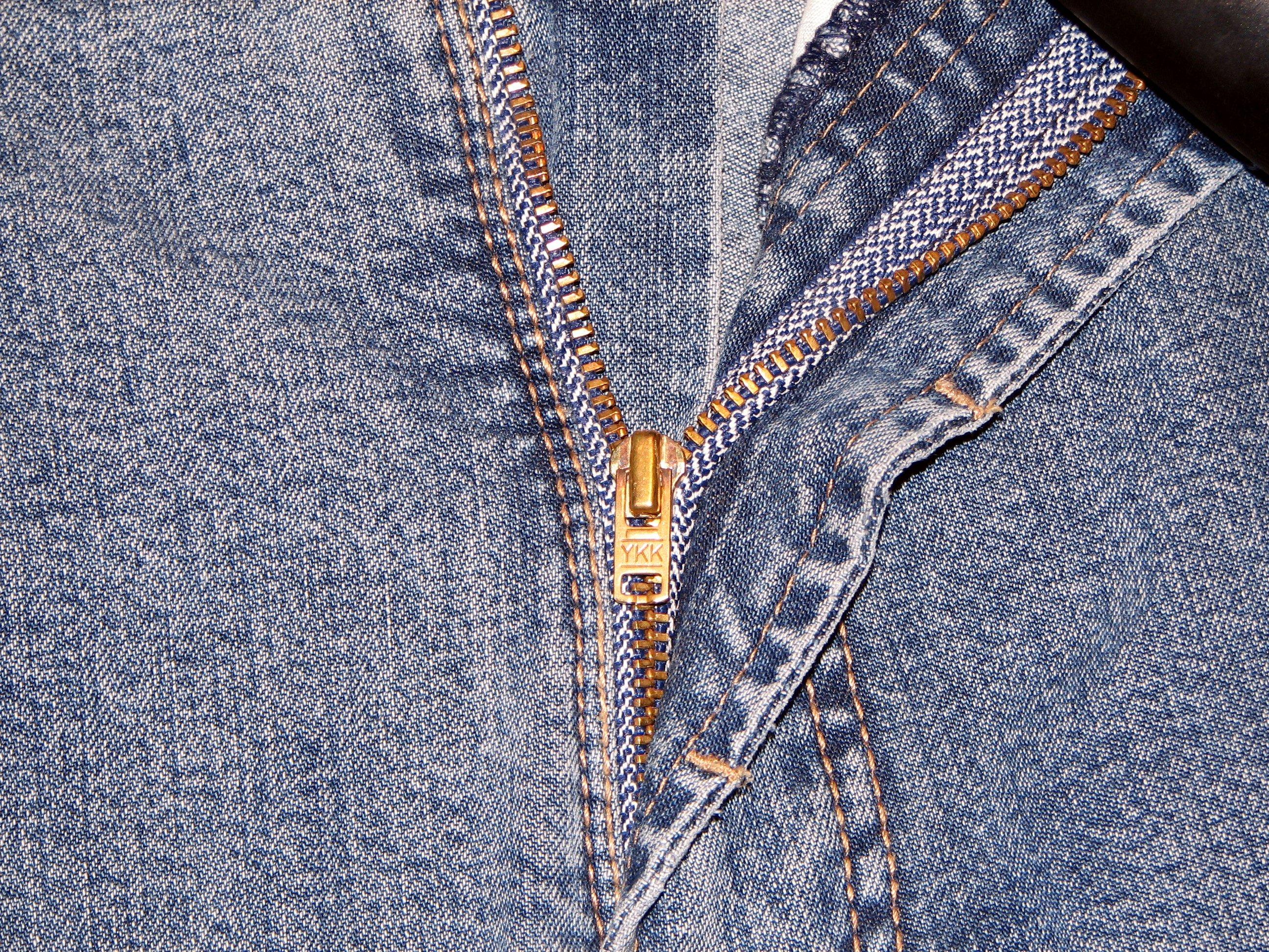 File:YKK Zipper on Jeans.JPG