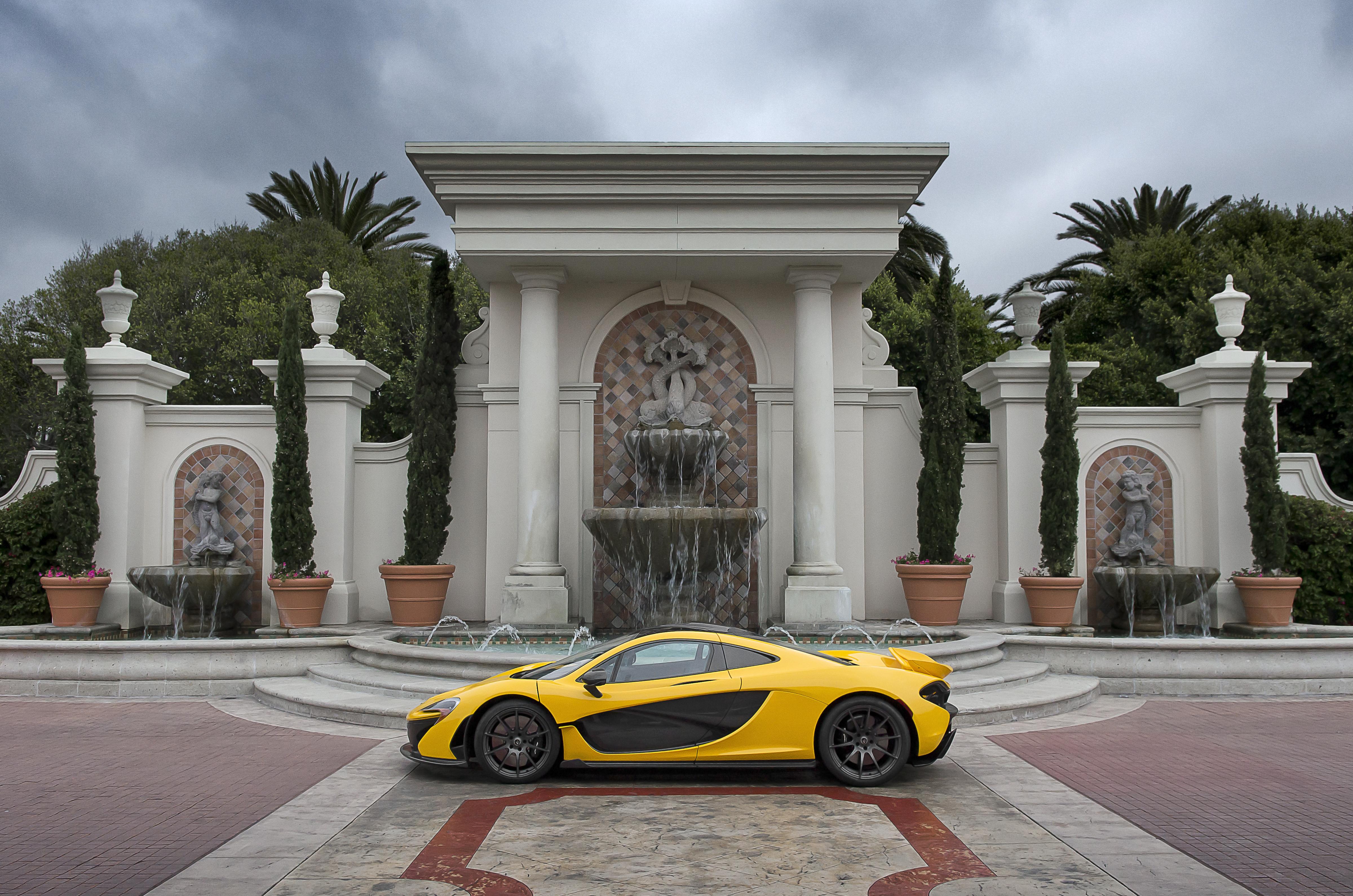 File:Yellow McLaren P1...