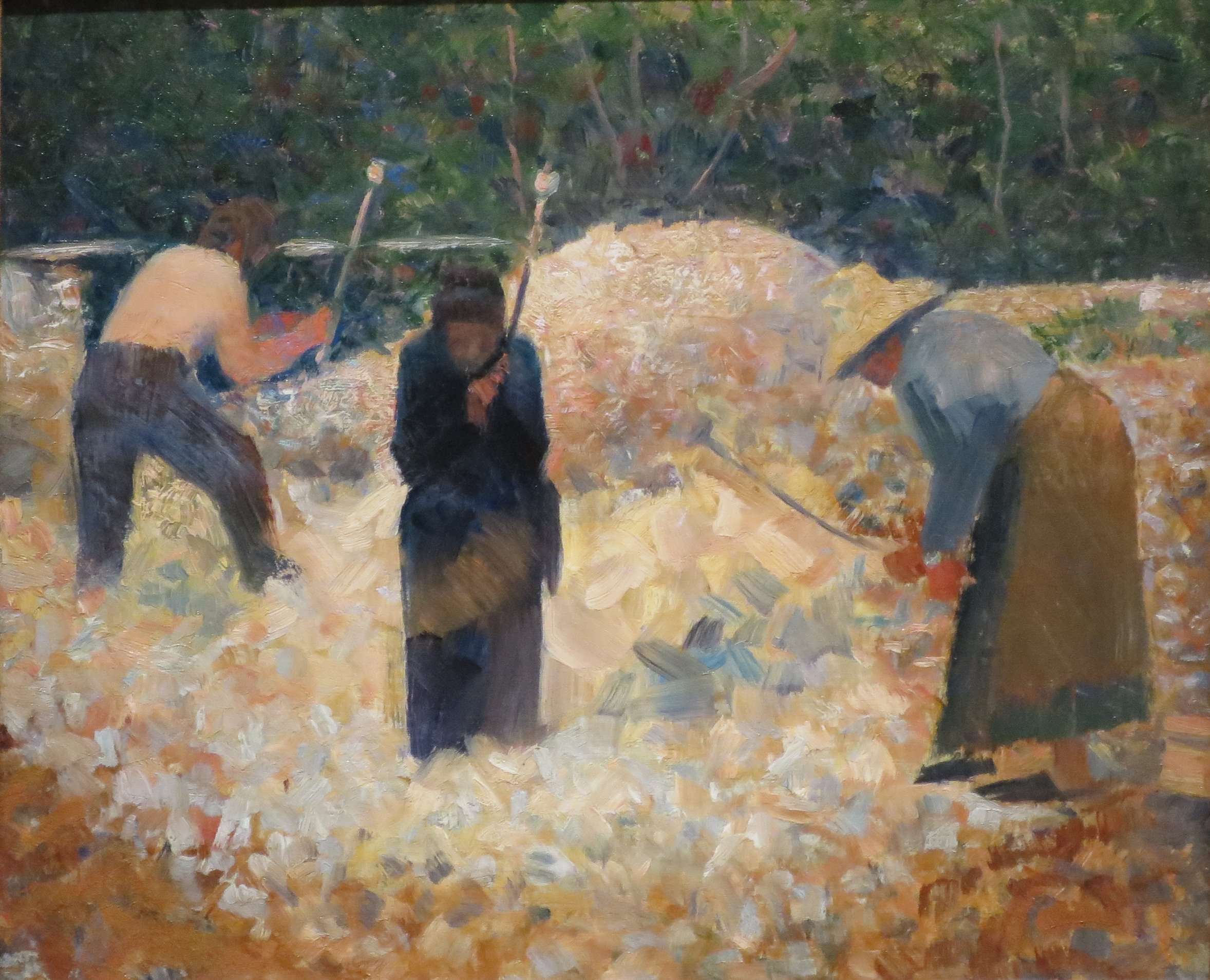 File The Stone Breakers Le Raincy By Georges Seurat