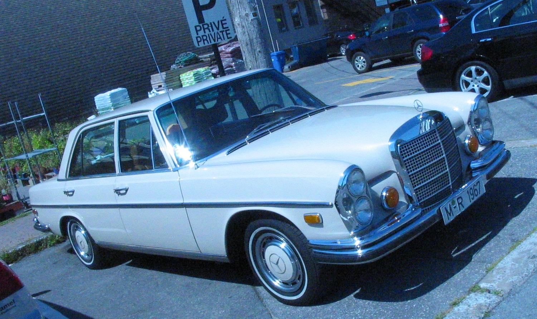 File 67 Mercedes Benz S Class W108 Auto Classique Pointe
