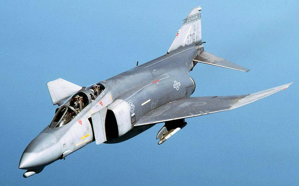 F-4Dファントム。ショートノーズもまたよろし。