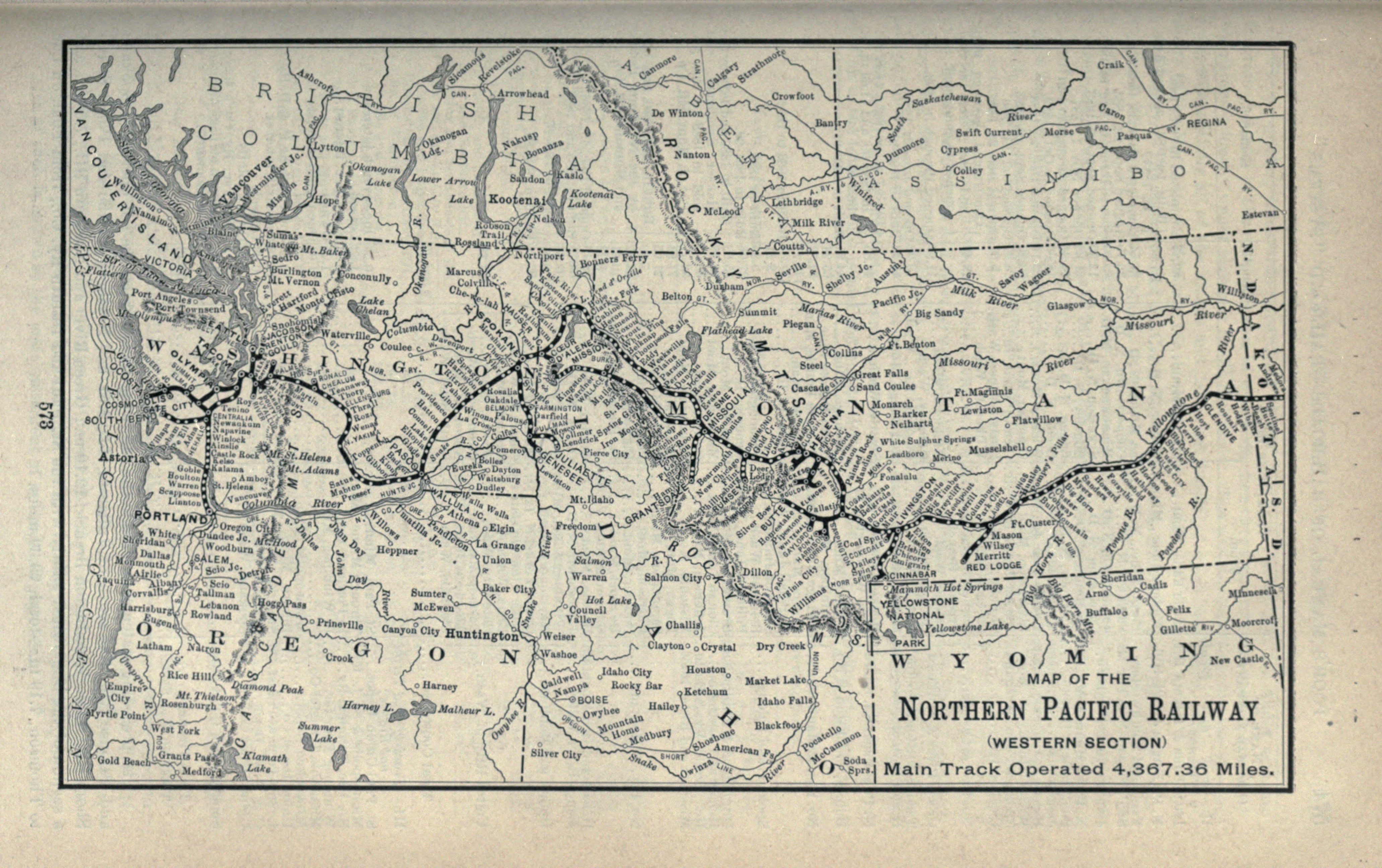 Description 1897 Poor's Northern Pacific Railway Western Section.jpg