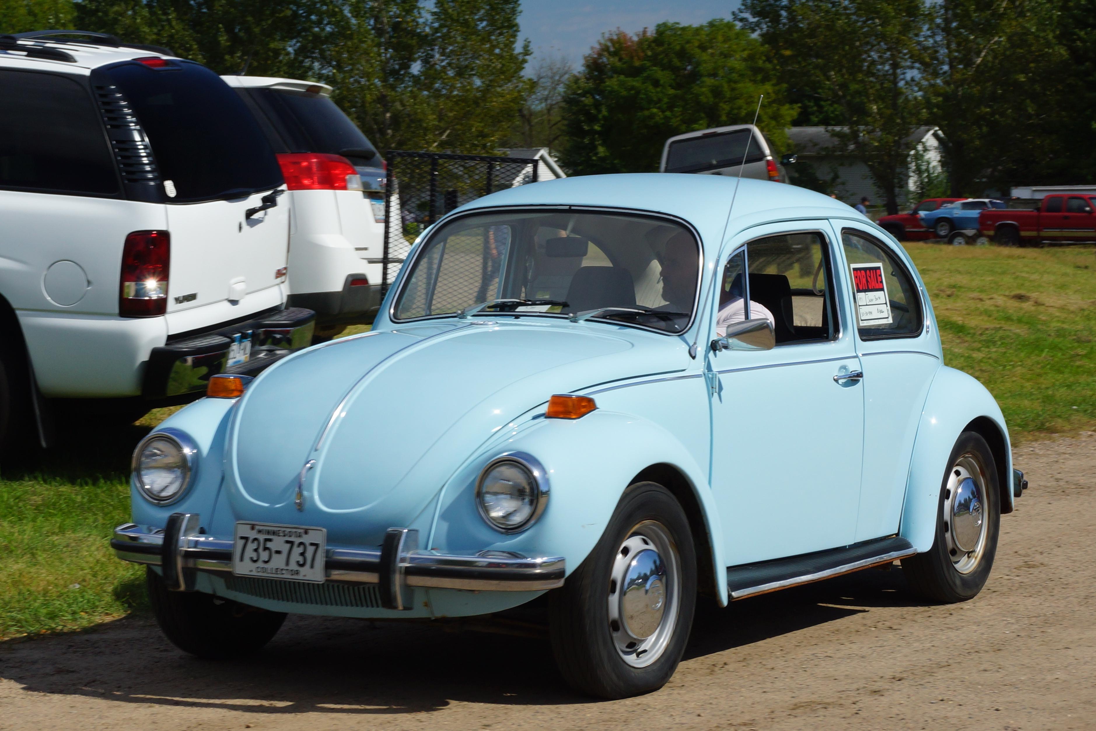 File 1971 Volkswagen Super Beetle 29175754193 Jpg Wikimedia Commons