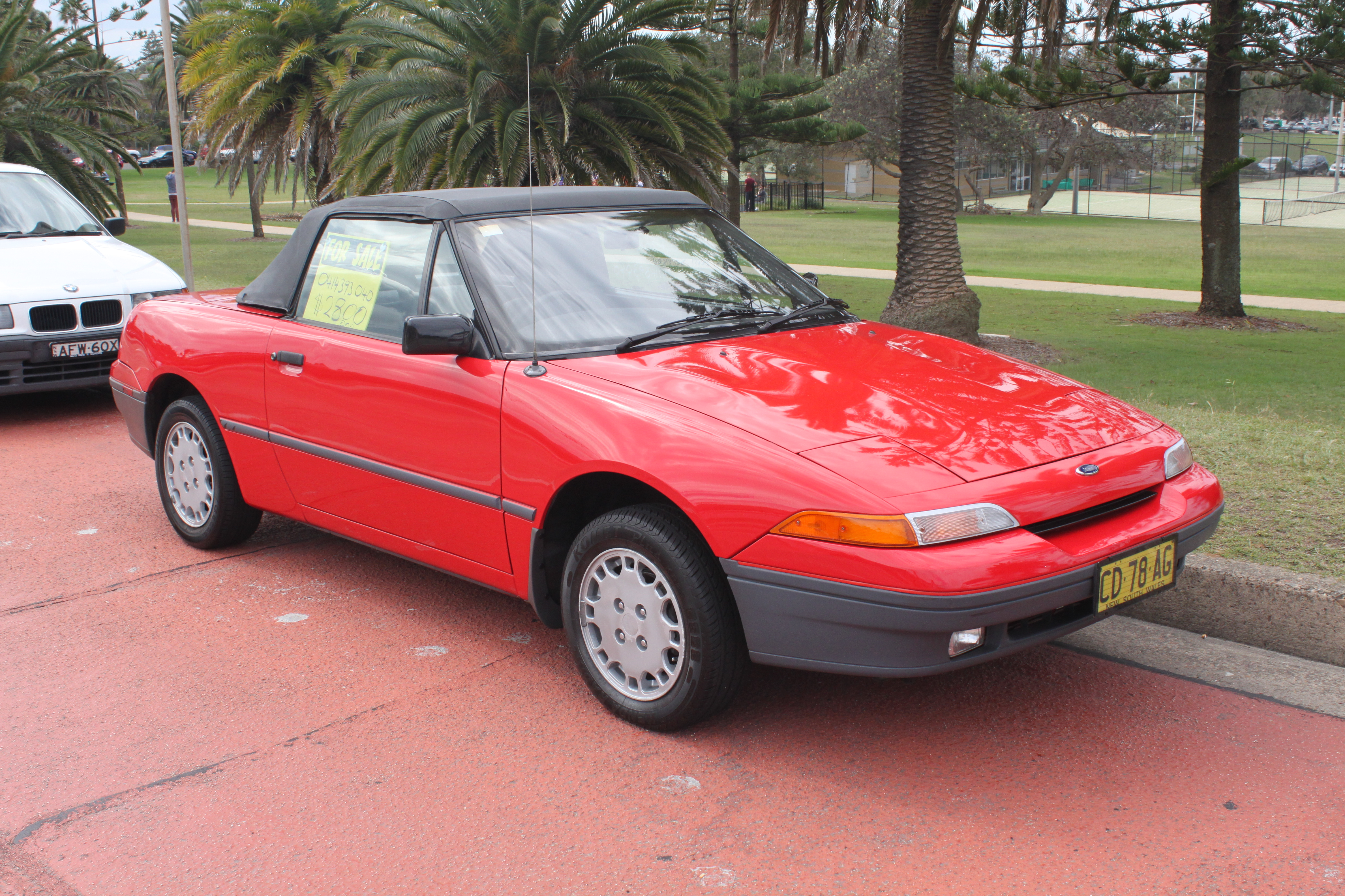 File 1990 Ford Capri Sa Convertible 16932067310 Jpg Wikimedia Commons