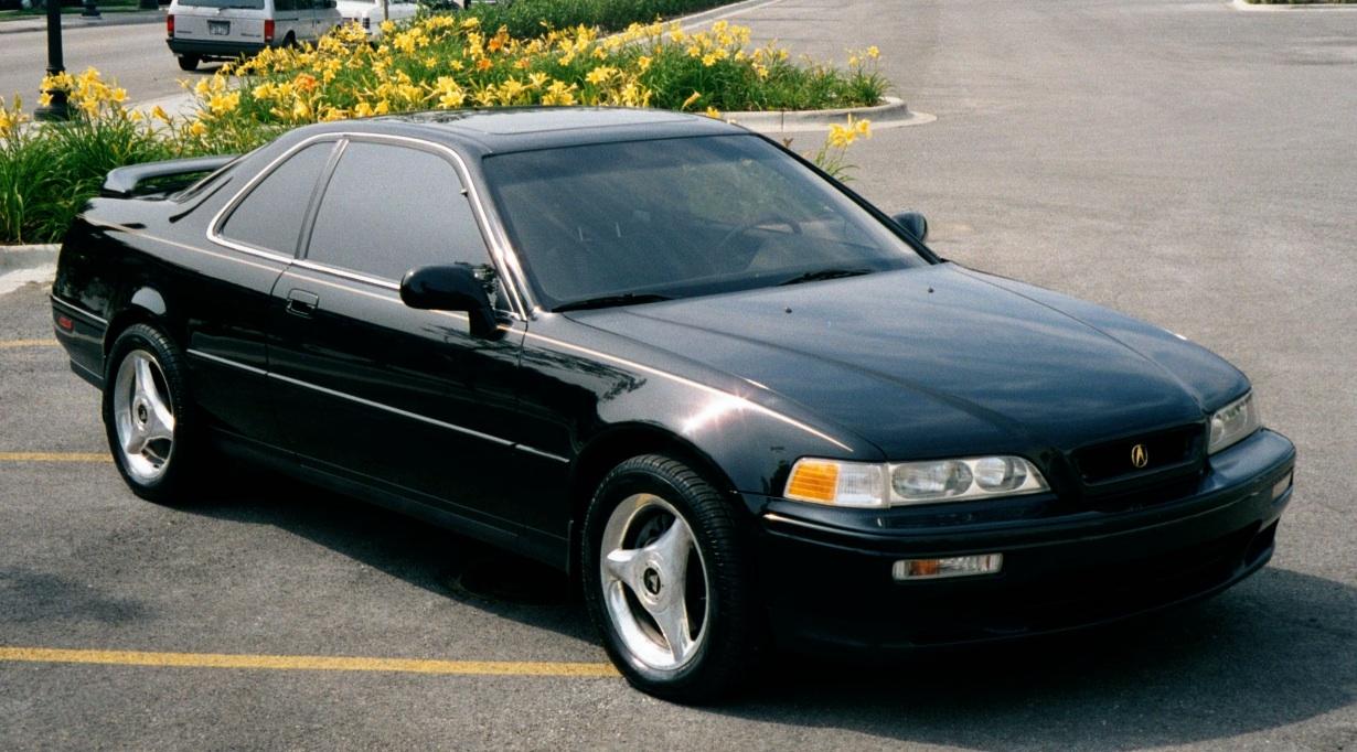 1995 acura legend l sedan 3 2l v6 manual rh carspecs us 1994 Acura Legend 4 Door 1994 Acura Legend Coupe