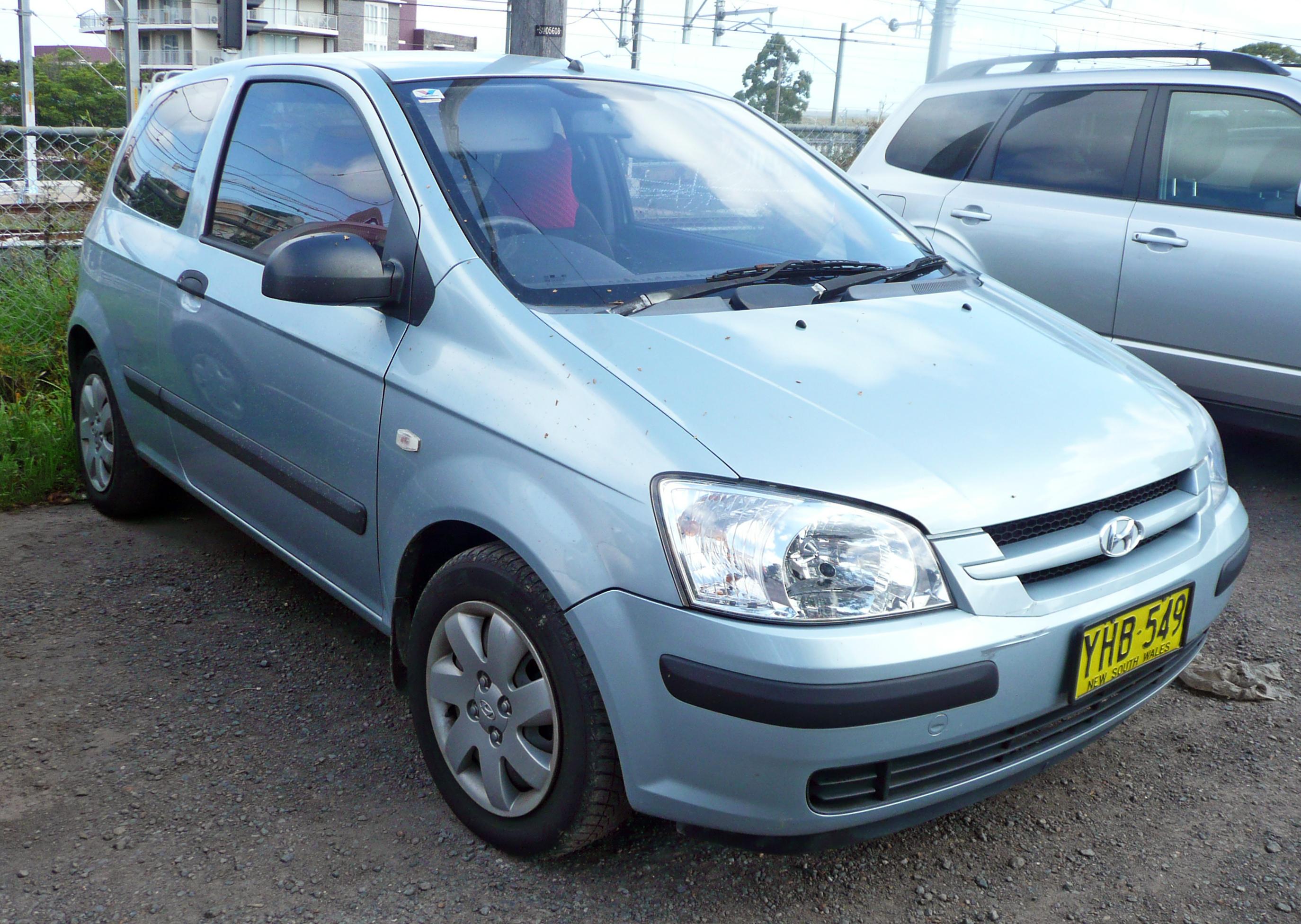 File:2002 Hyundai Getz (TB) GL 3-door hatchback (2009-