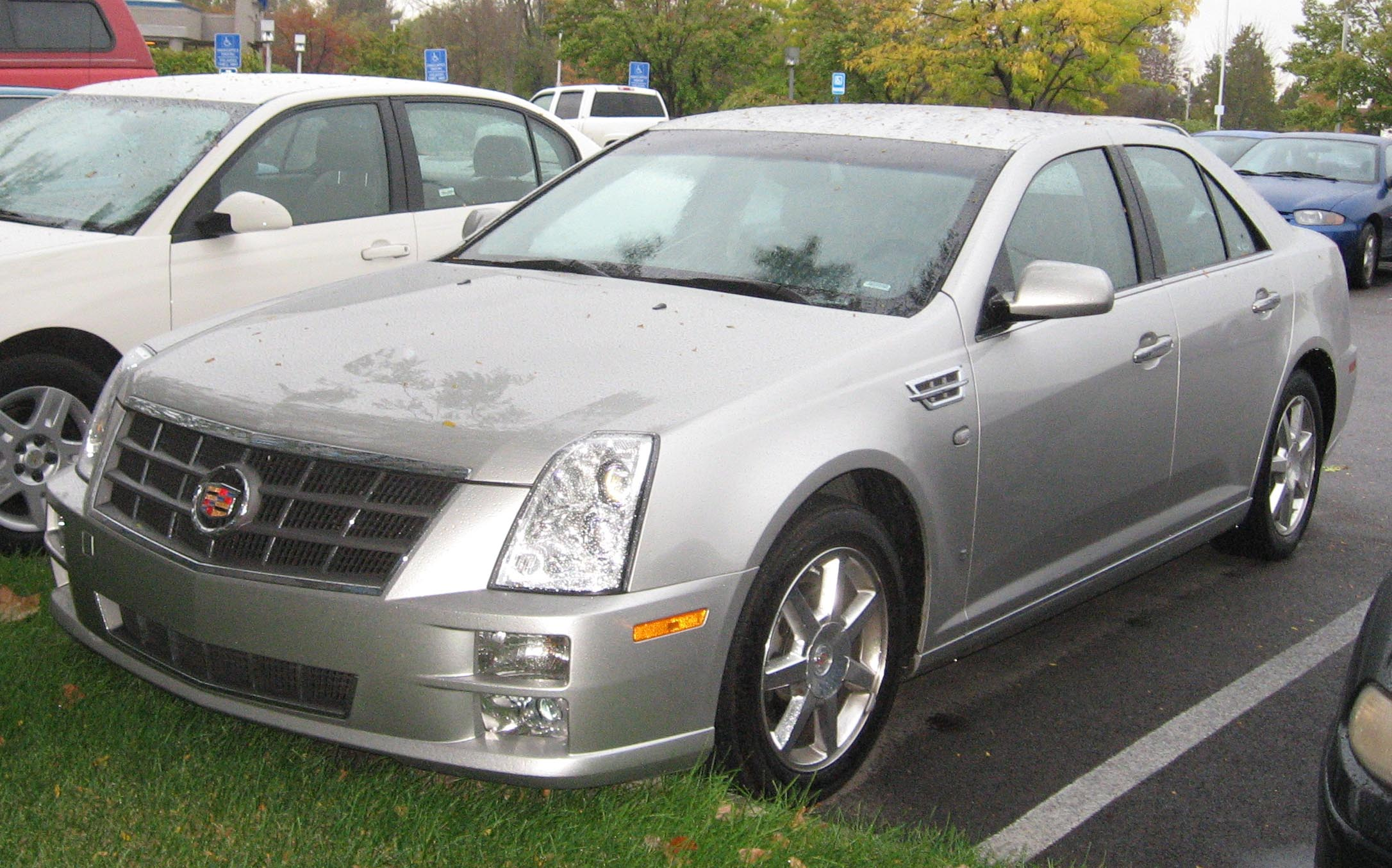 File 2008 Cadillac Sts Jpg Wikimedia Commons