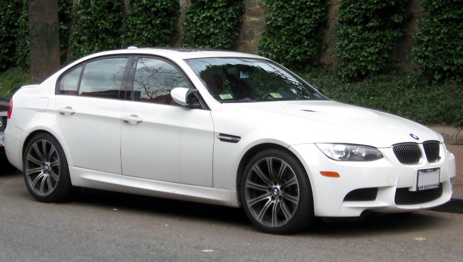 File:2009-2011 BMW M3 sedan -- 01-07-2012.jpg - Wikimedia Commons