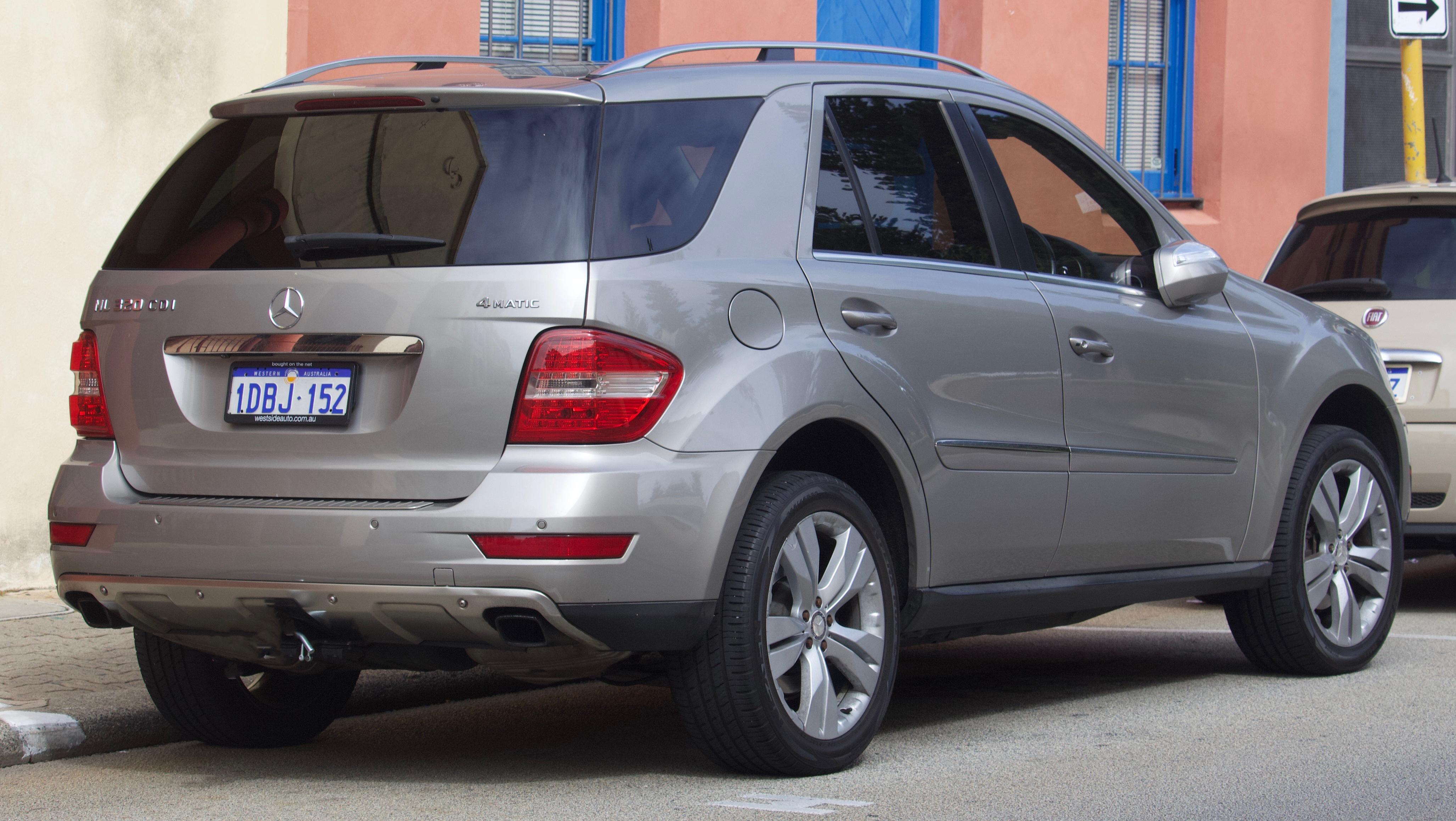 File 2010 Mercedes Benz Ml 320 Cdi W 164 My10 4matic Wagon