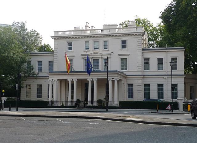 Embajada De Espa 241 A En Londres Wikipedia La Enciclopedia