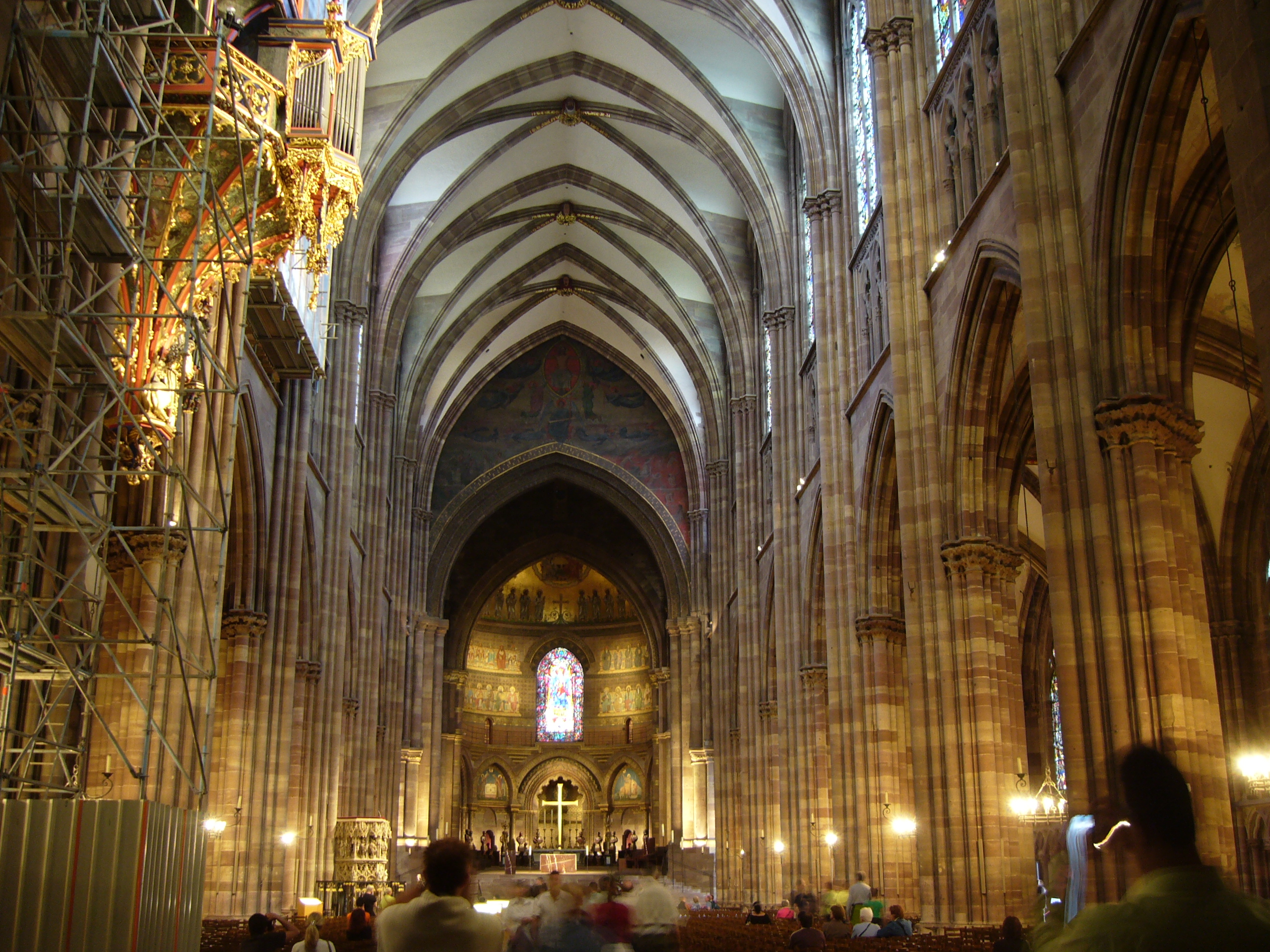 Interieur France Of File Absolute Cathedrale Strasbourg Interieur 01 Jpg