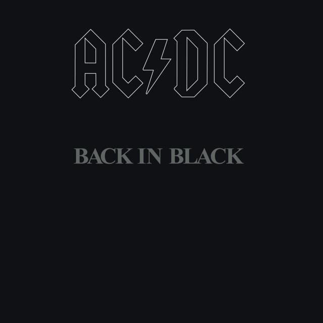 Acdc backinblack cover