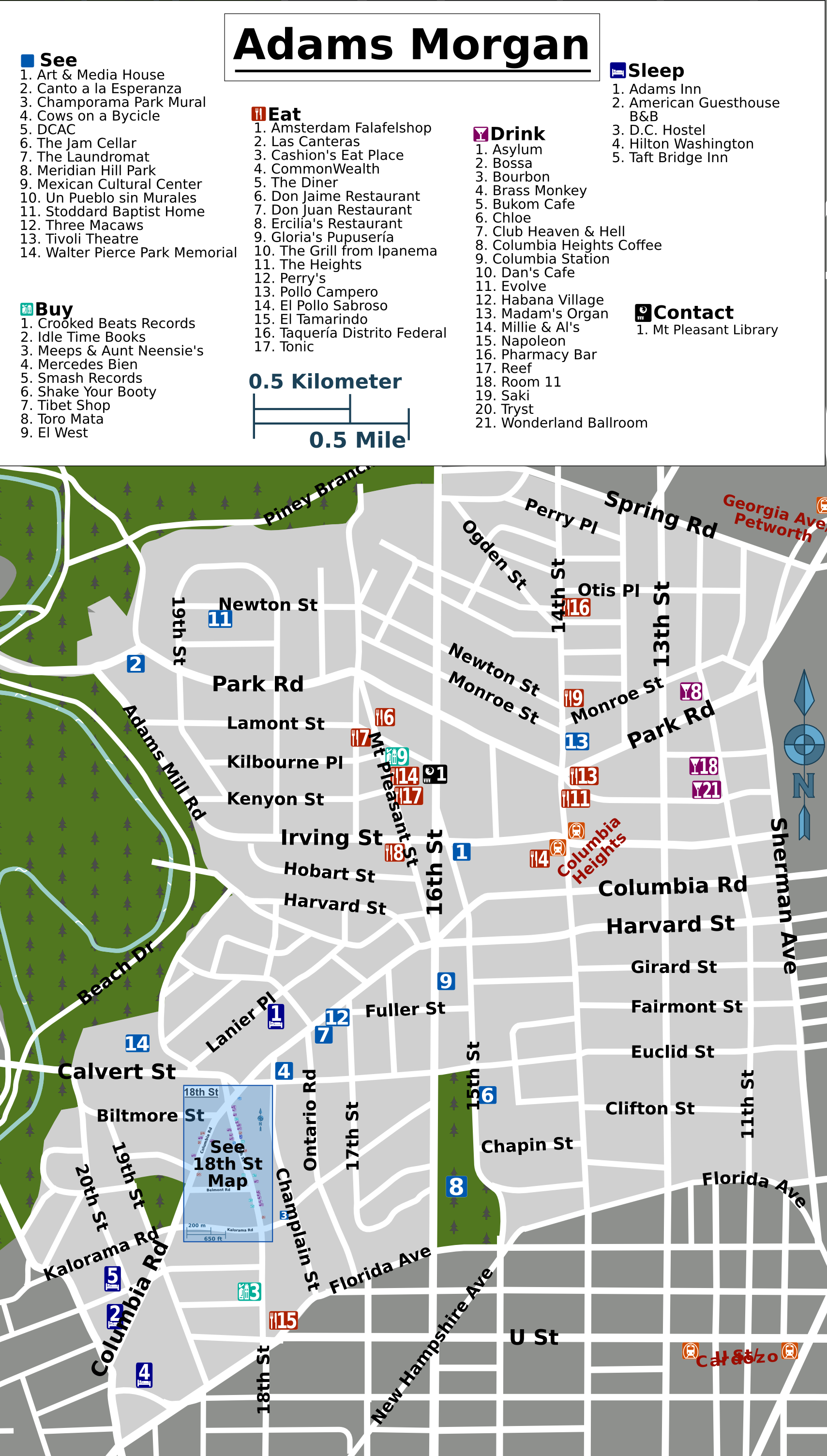 Adams Morgan Dc Map.File Adams Morgan Map Png Wikimedia Commons