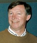 The difficulty of finding a permanent replacement for Stein in the time available led to Alex Ferguson being appointed as the national team manager until at least the end of the World Cup. Alex Ferguson mars 1992 cropped.jpg