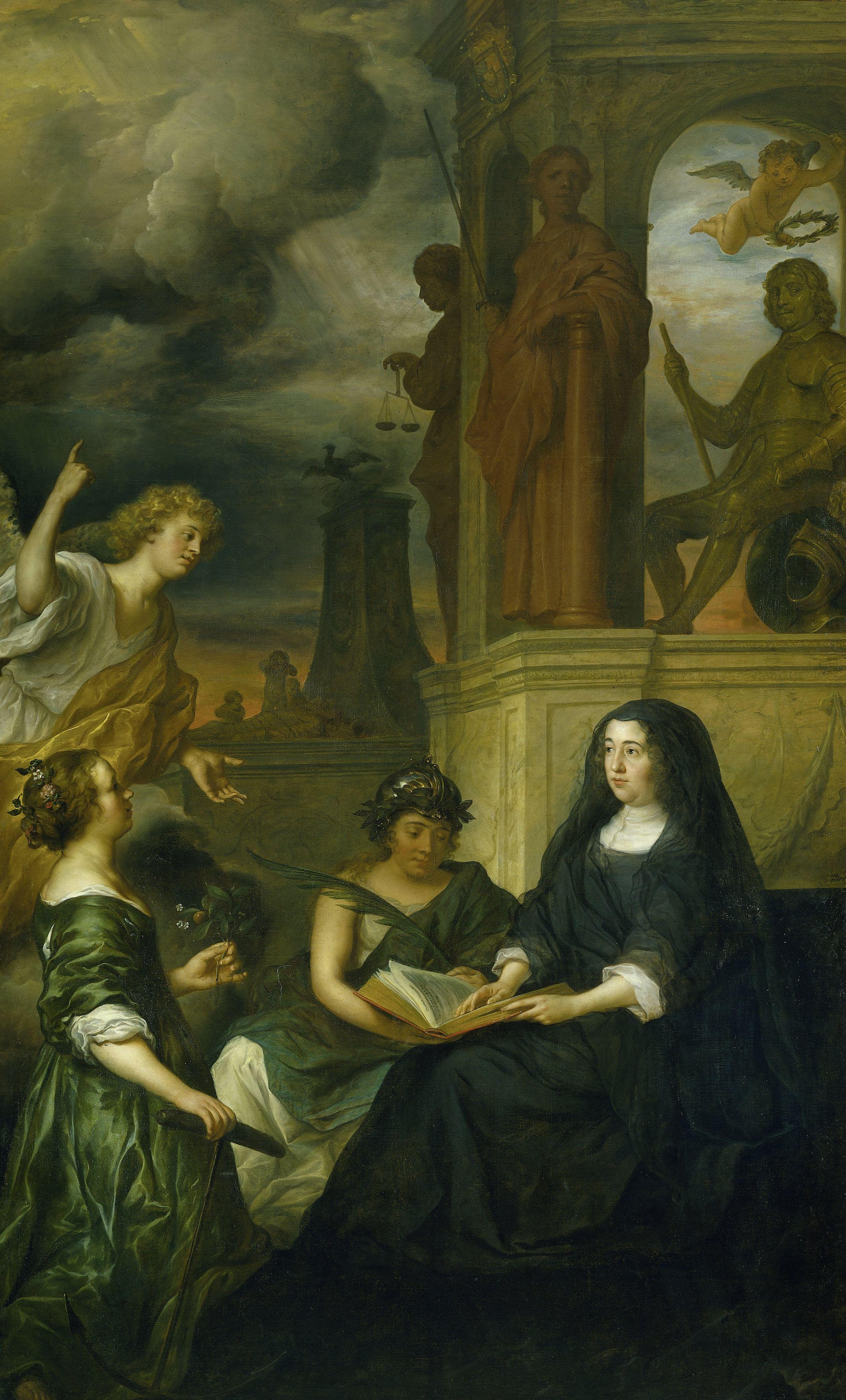 Fileallegorie Op De Nagedachtenis Van Frederik Hendrik