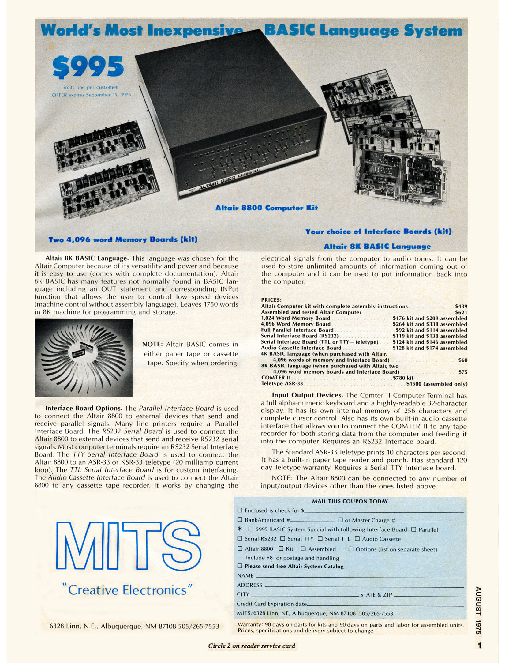 File:Altair Computer Ad August 1975 jpg - Wikimedia Commons