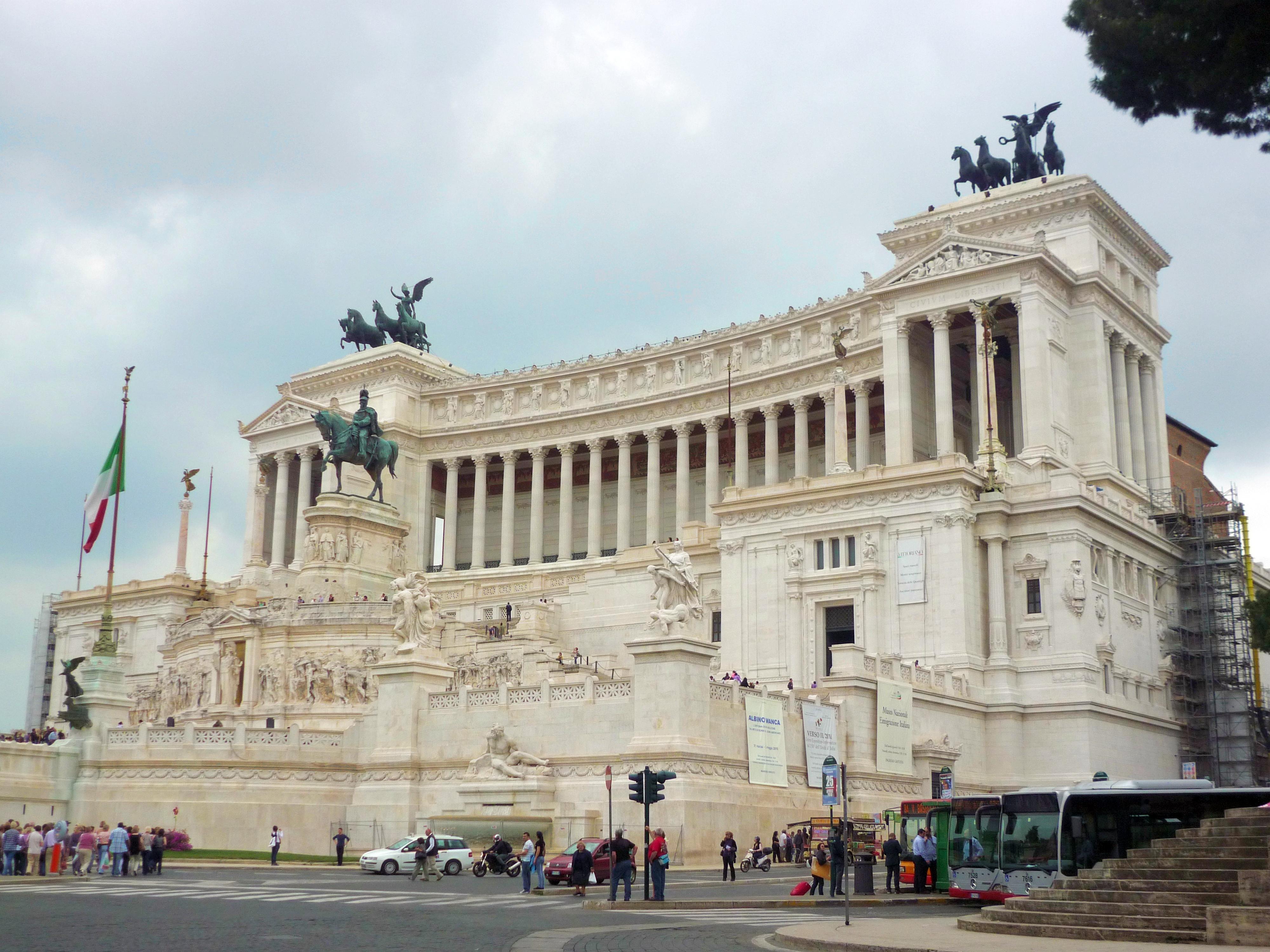 Description Altare della Patria, Roma - main fc03.jpg