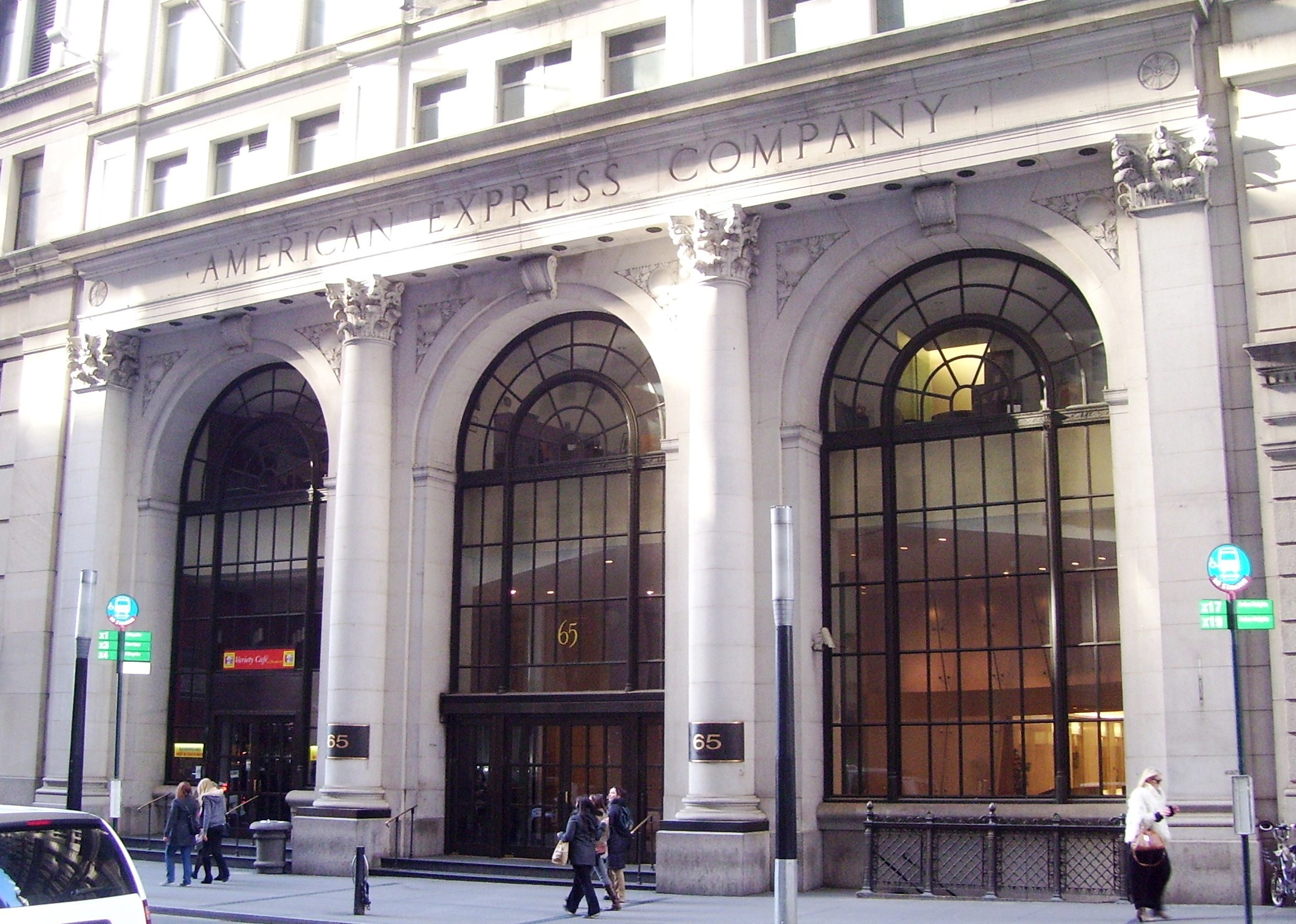 File:American Express Company Building 65 Broadway entrance.jpg
