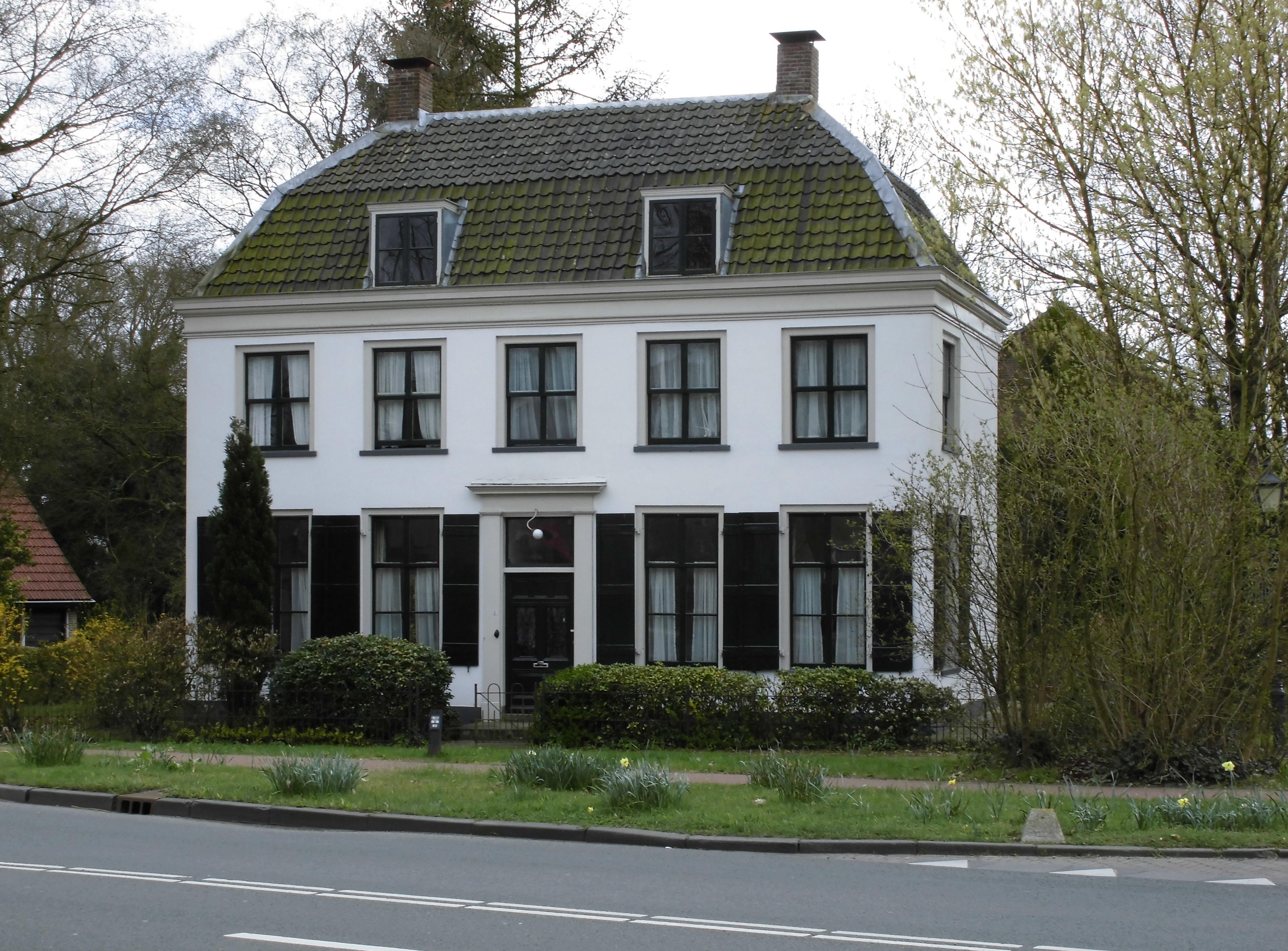 Het witte huis in amerongen monument - Fotos van huis ...